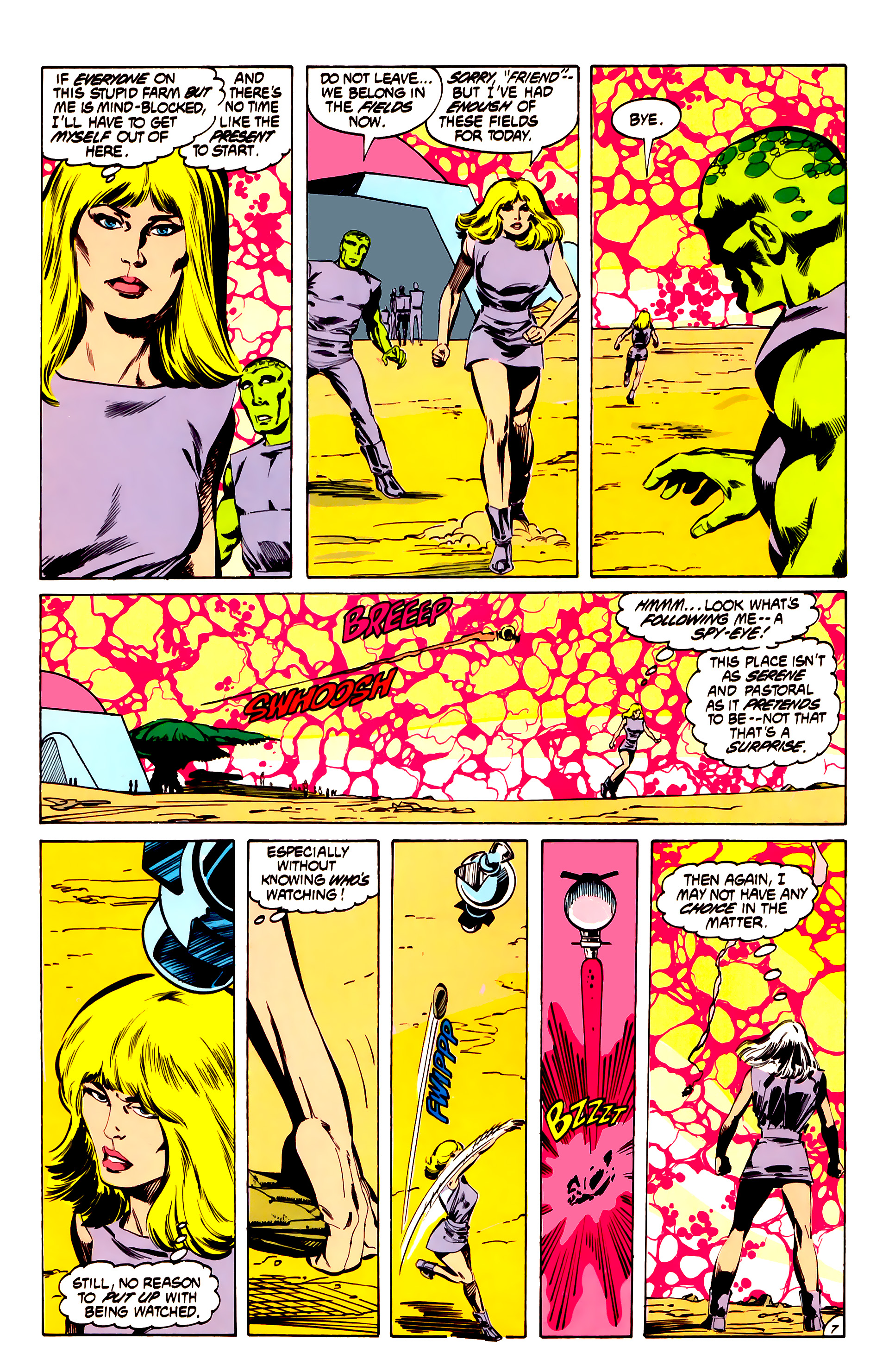 Legion of Super-Heroes (1984) 32 Page 6