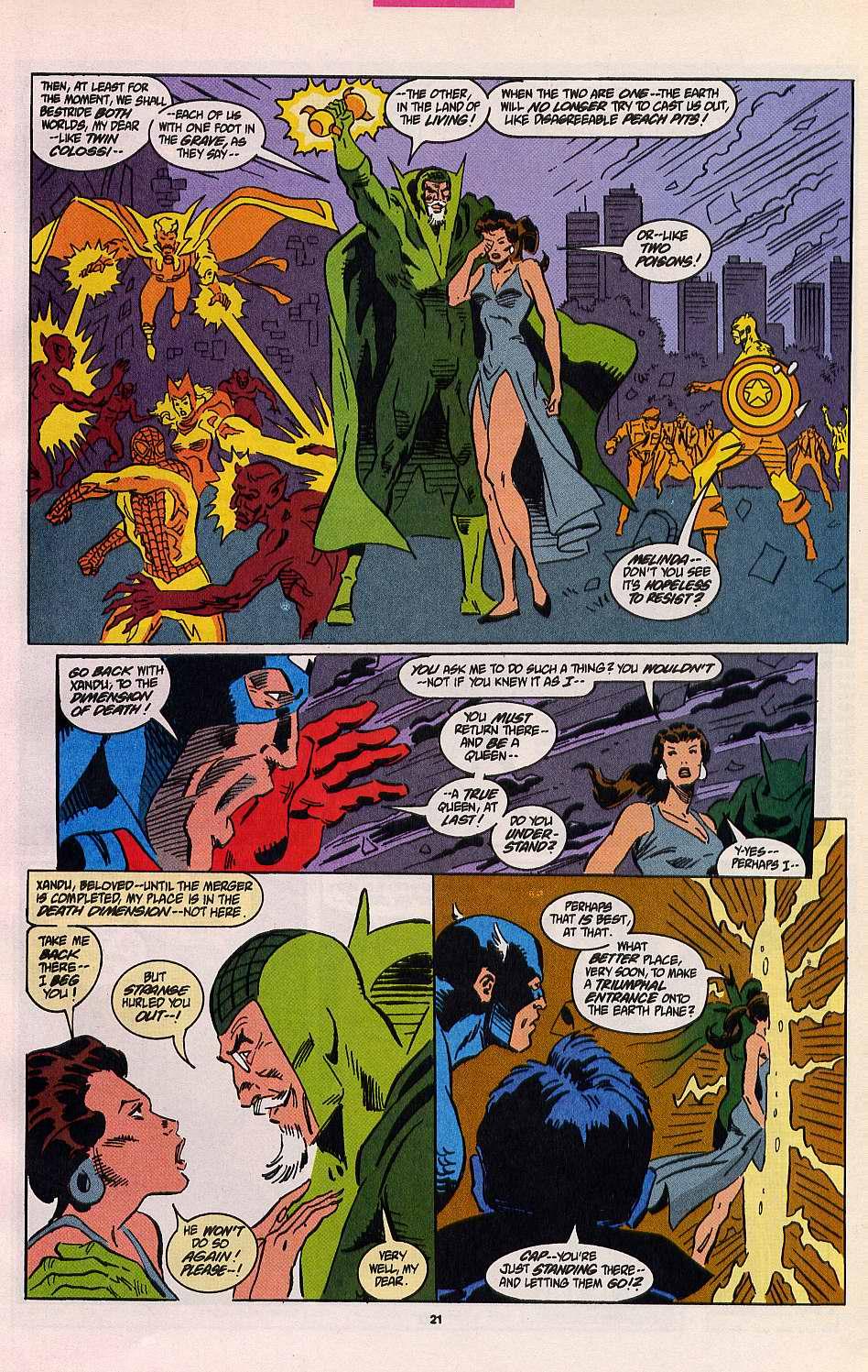 Read online Secret Defenders comic -  Issue #8 - 16