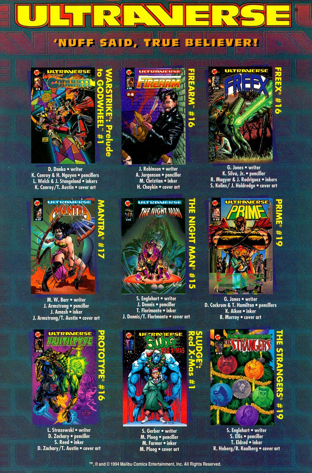 Read online UltraForce (1994) comic -  Issue #4 - 28
