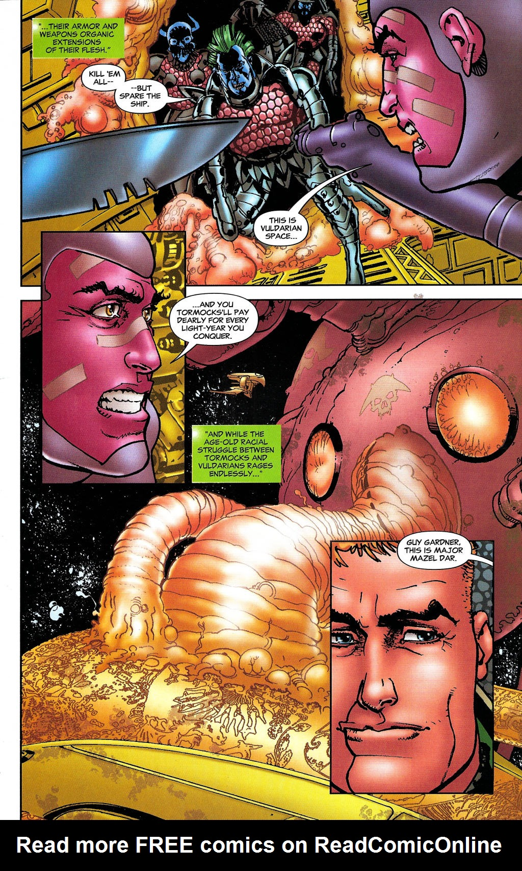Read online Guy Gardner: Collateral Damage comic -  Issue #1 - 20