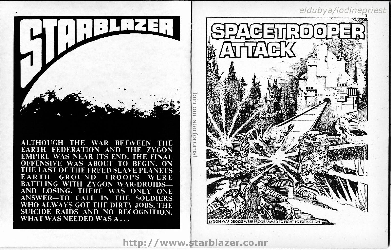 Starblazer issue 70 - Page 3