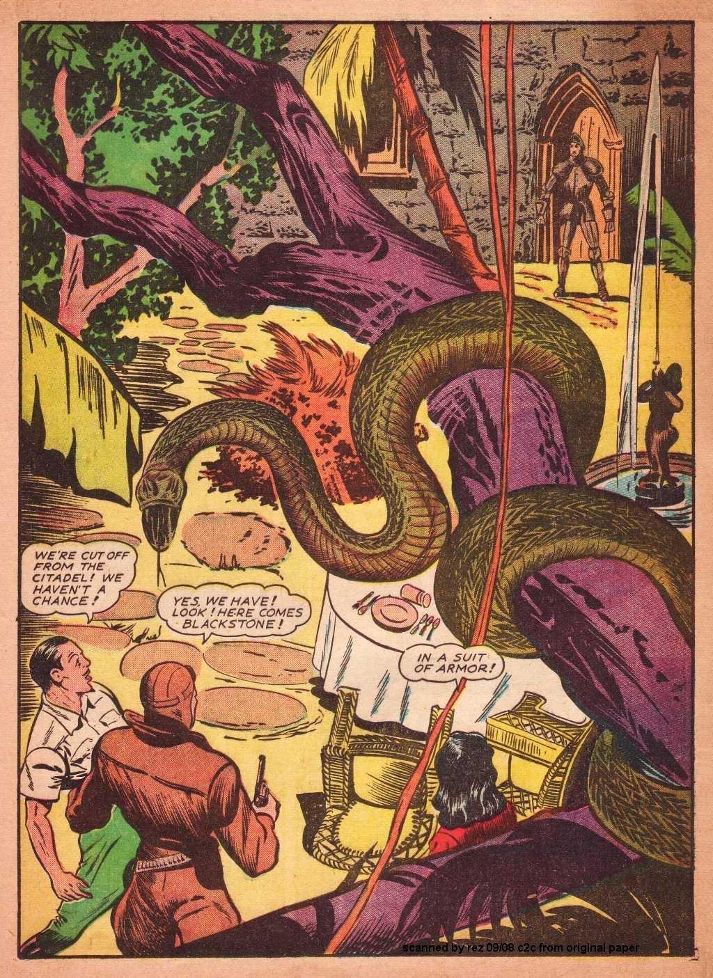 Read online Super-Magician Comics comic -  Issue #2 - 23