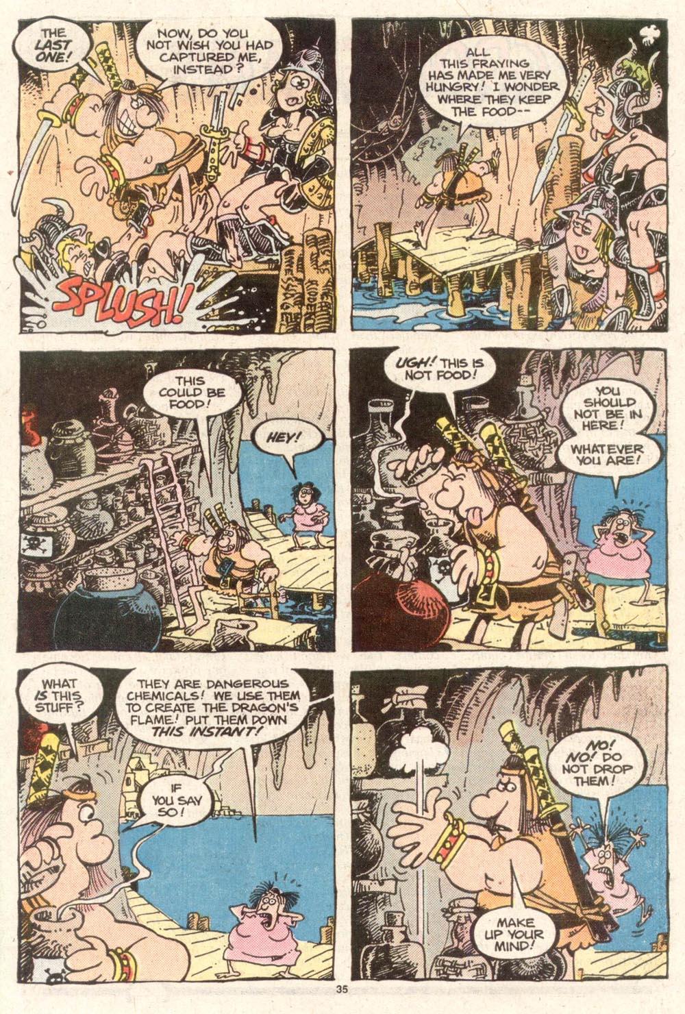 Read online Sergio Aragonés Groo the Wanderer comic -  Issue #50 - 35
