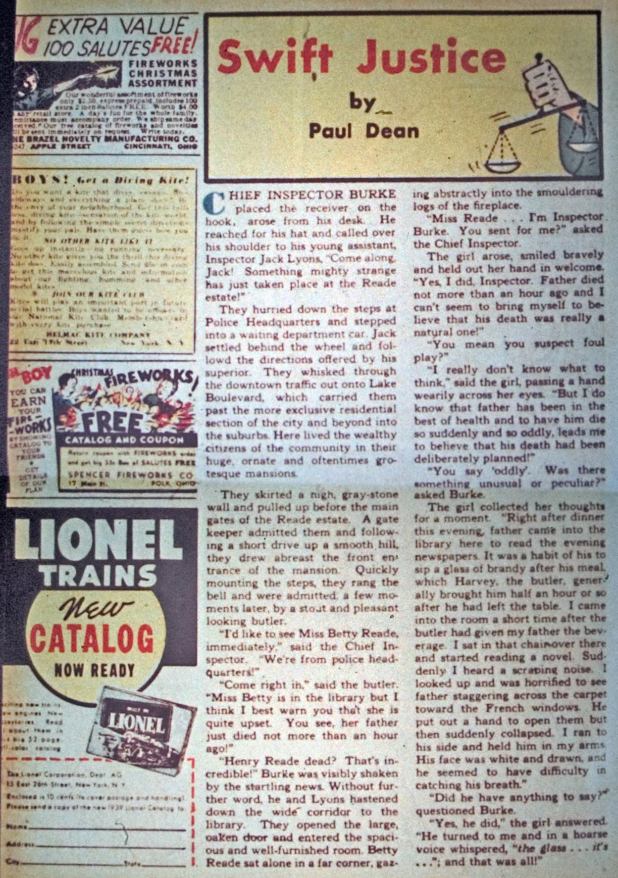 Read online Detective Comics (1937) comic -  Issue #34 - 34