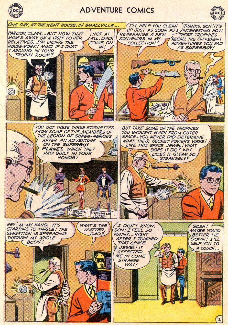 Read online Adventure Comics (1938) comic -  Issue #289 - 4