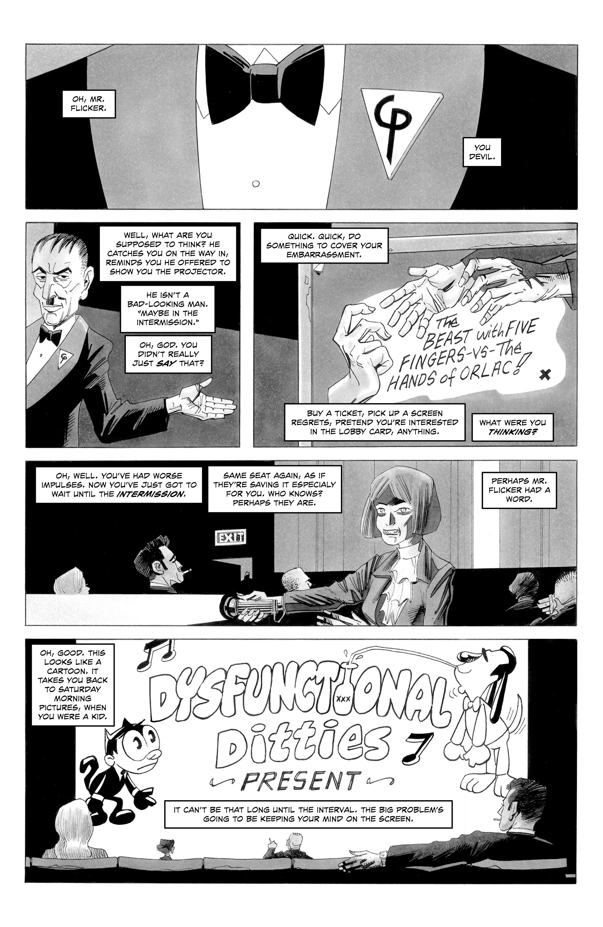 Read online Alan Moore's Cinema Purgatorio comic -  Issue #8 - 5