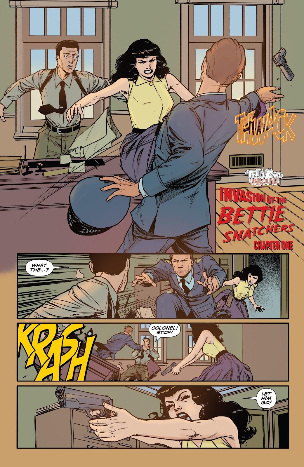 Read online Bettie Page: Unbound comic -  Issue #6 - 8