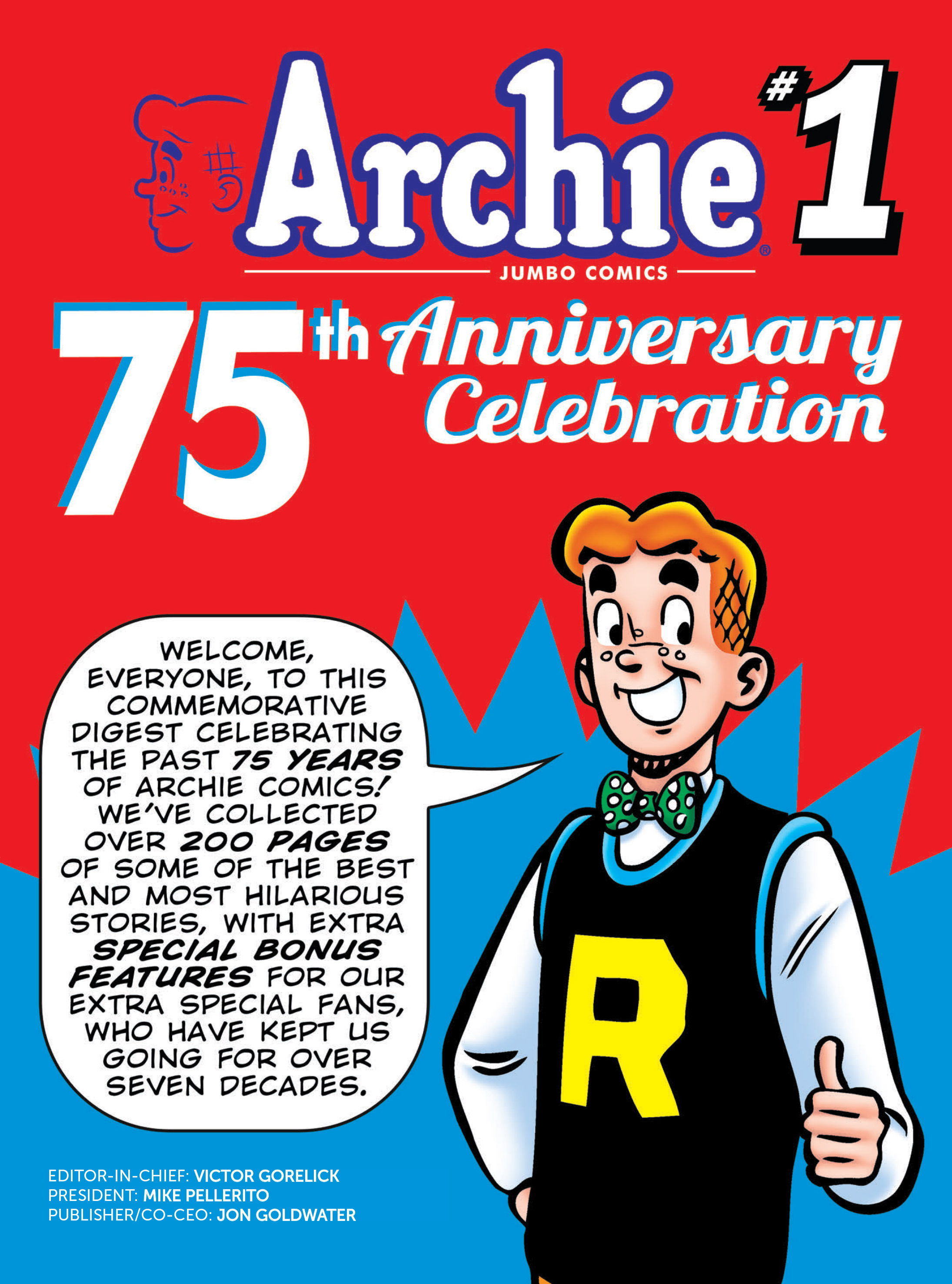 Read online Archie 75th Anniversary Digest comic -  Issue #1 - 2