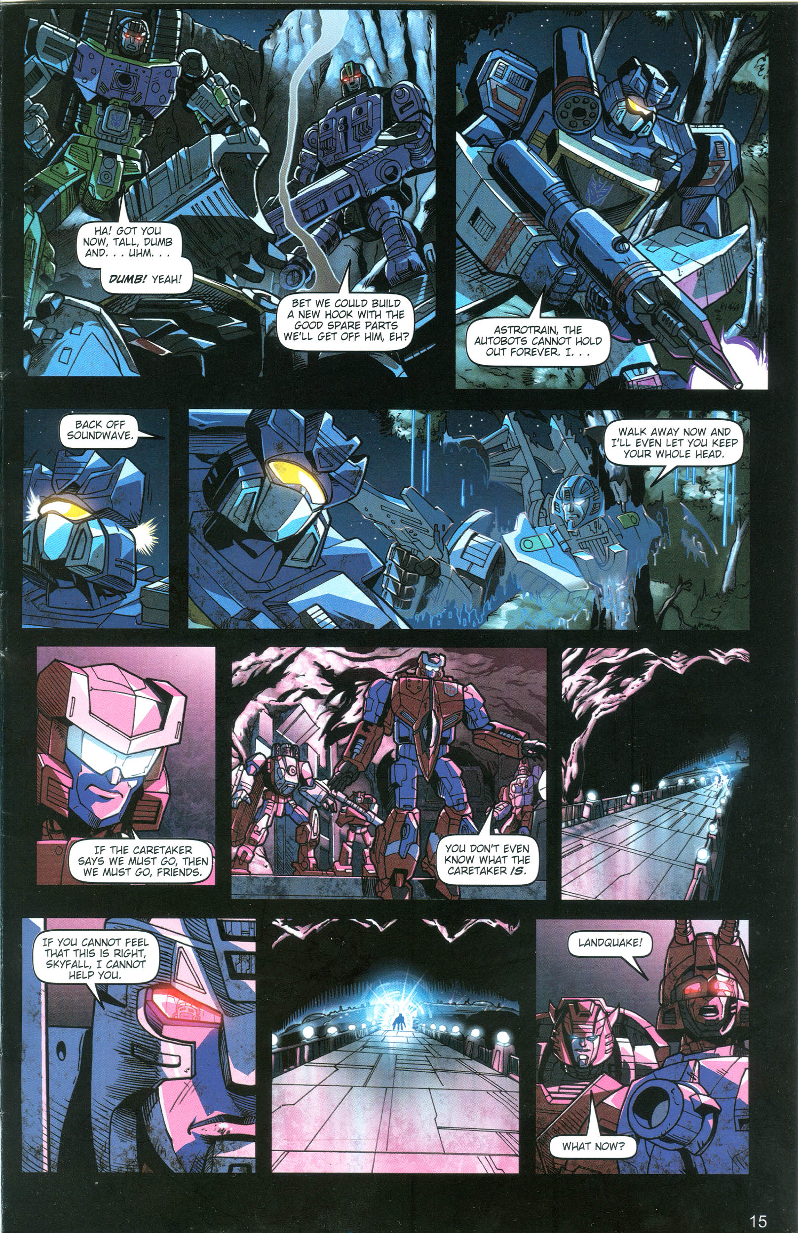 Read online Transformers: Collectors' Club comic -  Issue #18 - 15