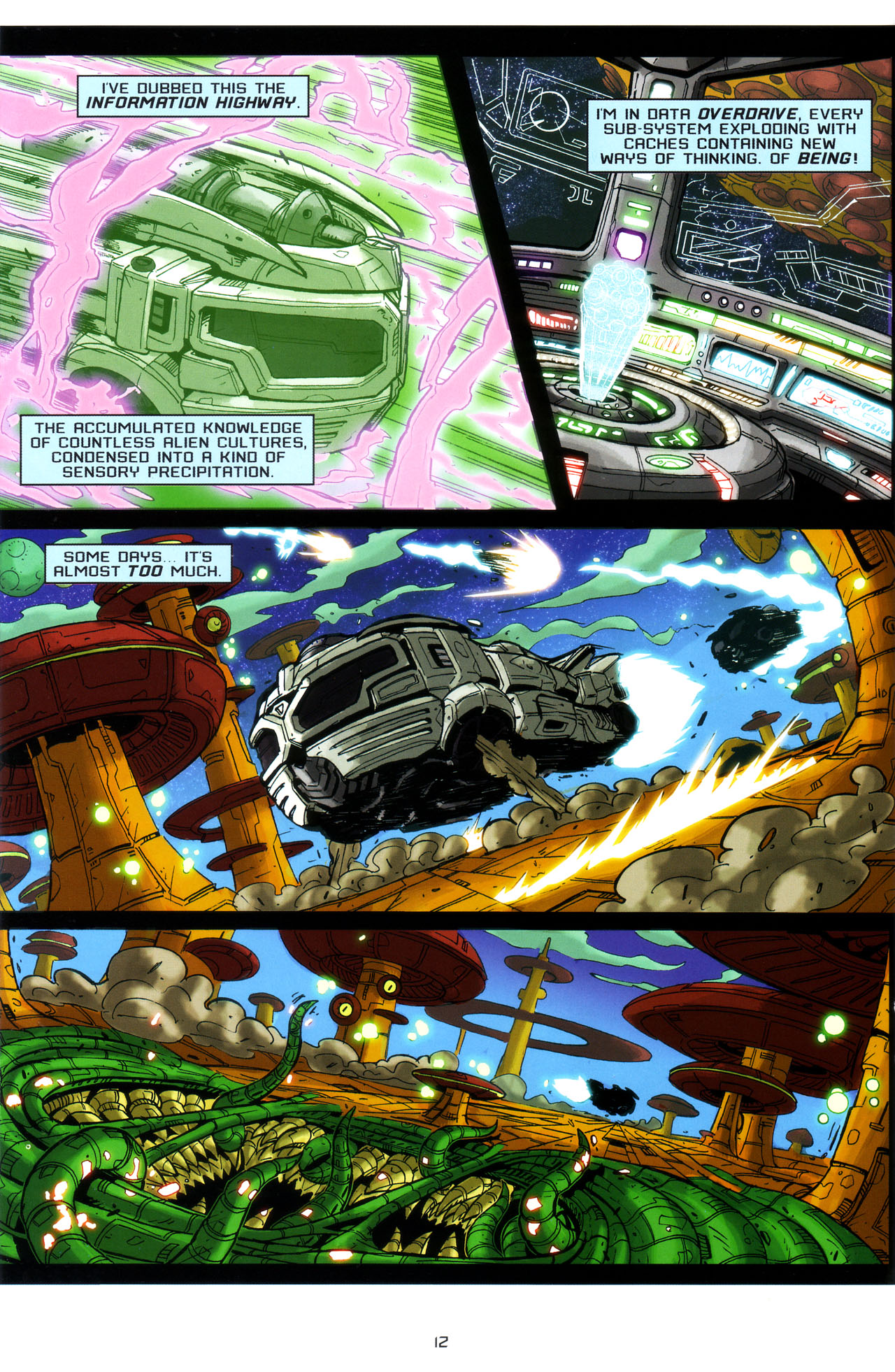 Read online Transformers: Saga of the Allspark comic -  Issue #3 - 15