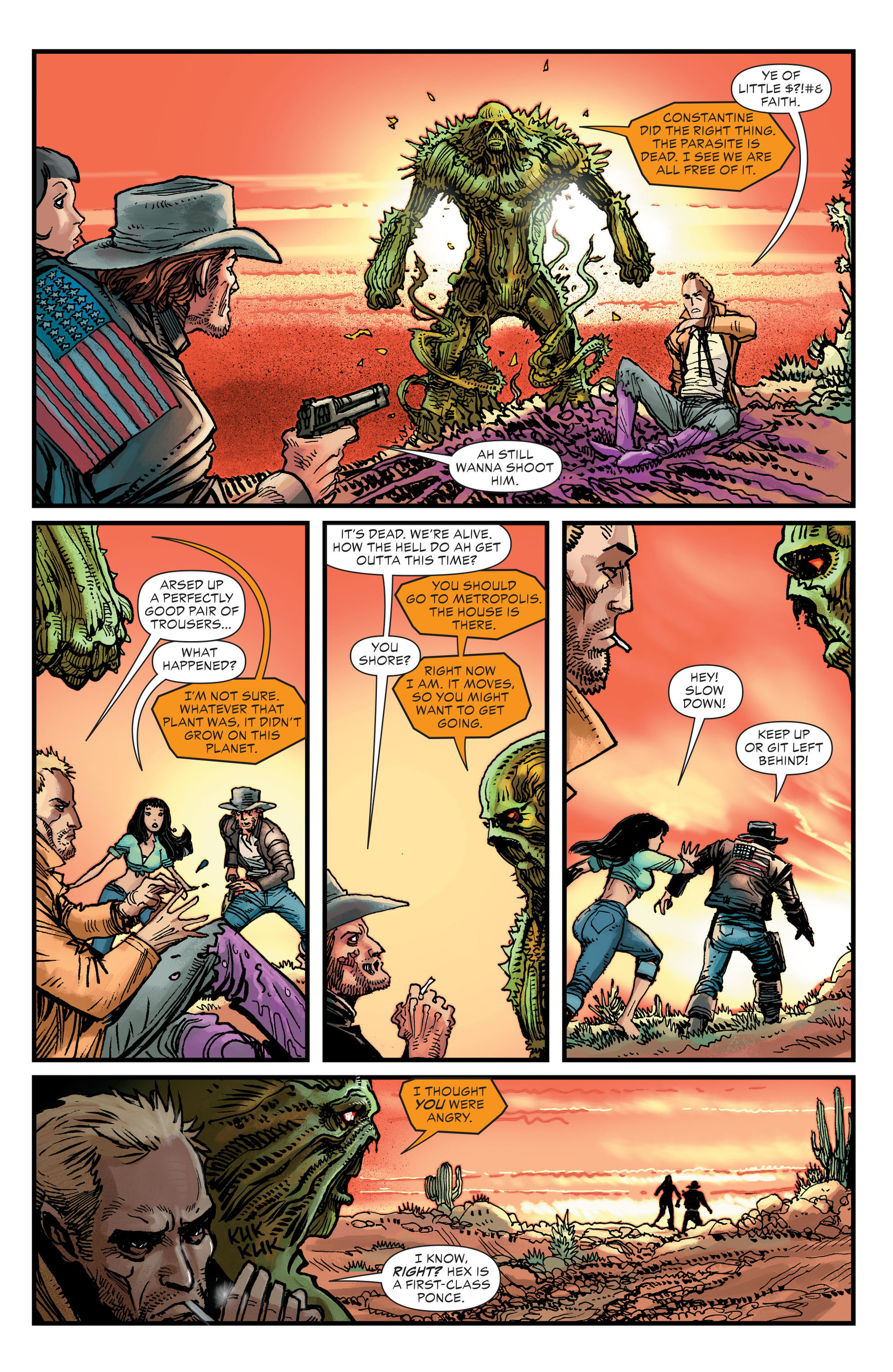 Read online All-Star Western (2011) comic -  Issue #26 - 19