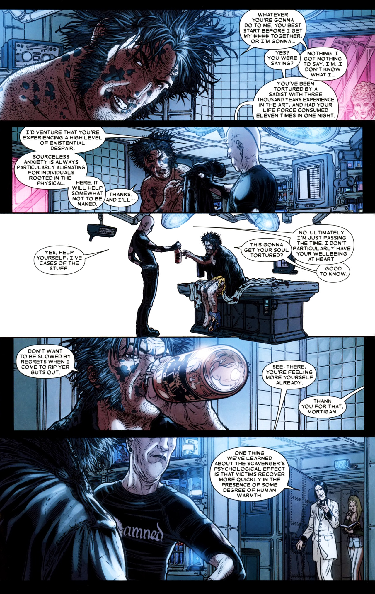 Read online Wolverine: The Best There Is comic -  Issue #4 - 21