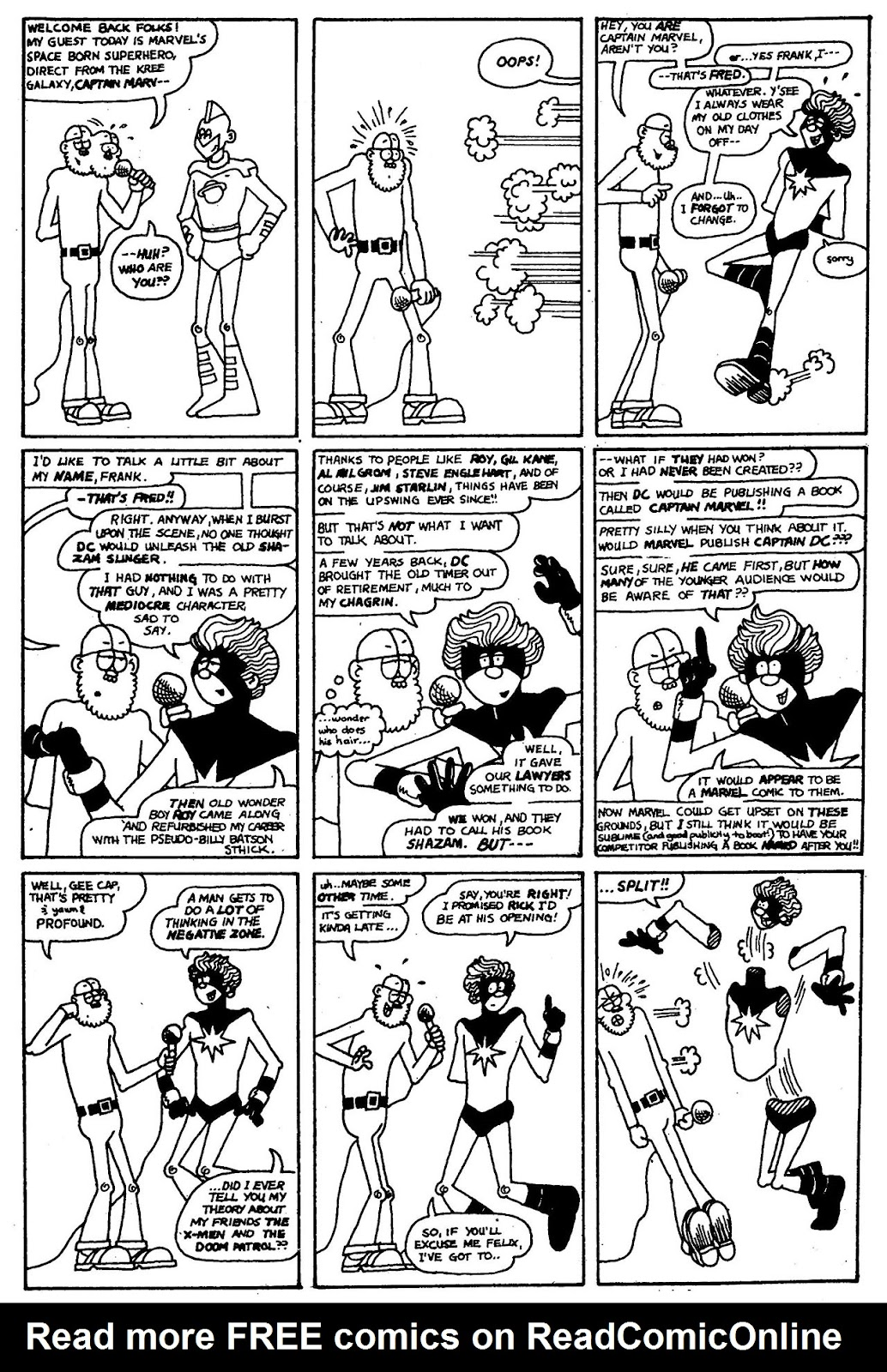 Read online The Nearly Complete Essential Hembeck Archives Omnibus comic -  Issue # TPB (Part 1) - 55