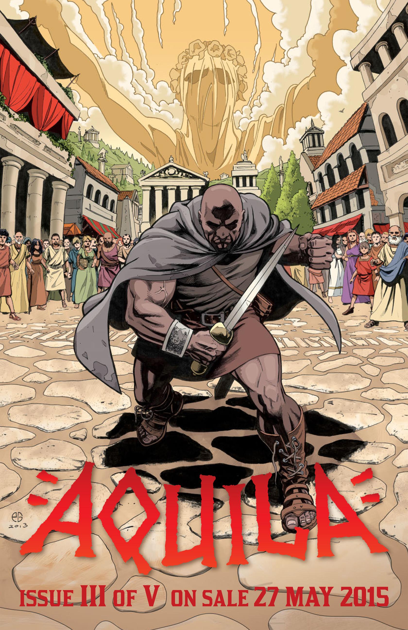 Read online Aquila comic -  Issue #2 - 35