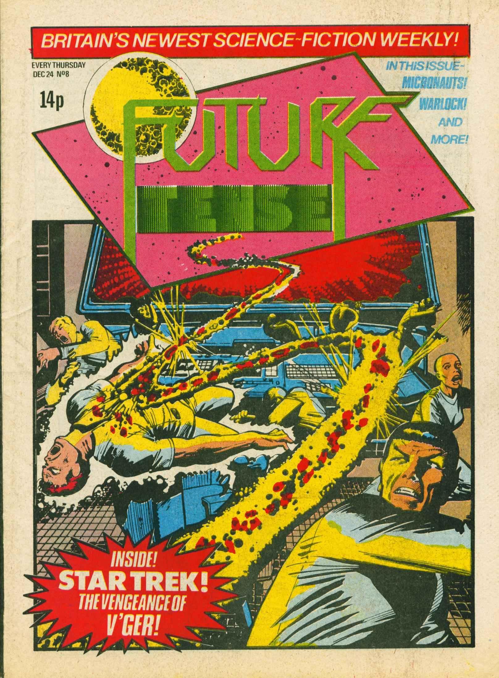Read online Future Tense comic -  Issue #8 - 1