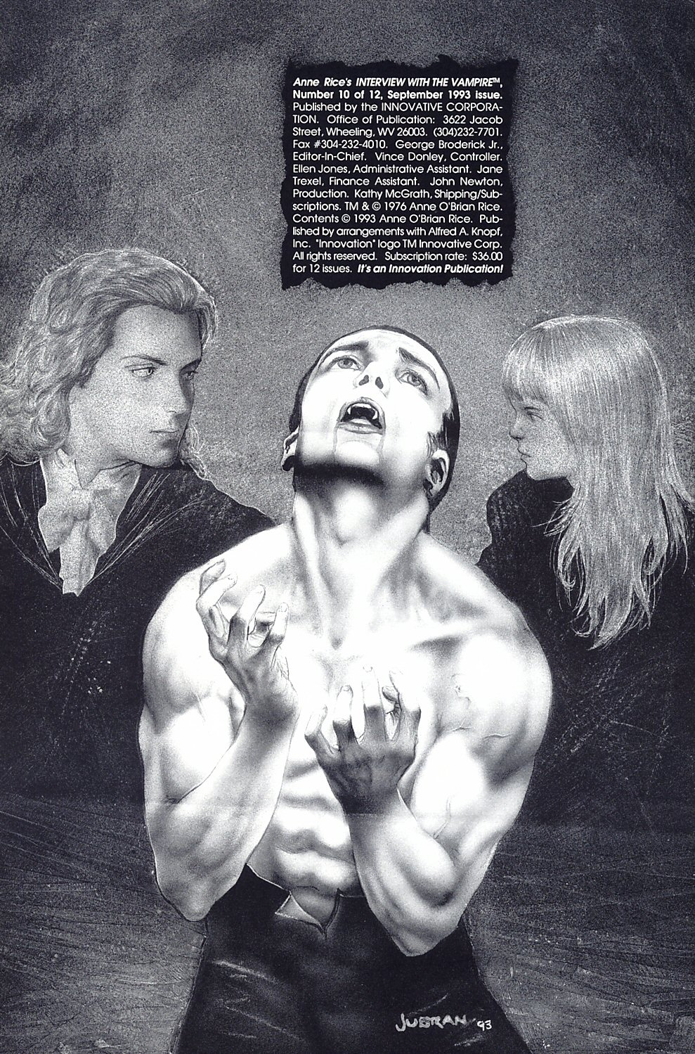 Read online Anne Rice's Interview with the Vampire comic -  Issue #10 - 3