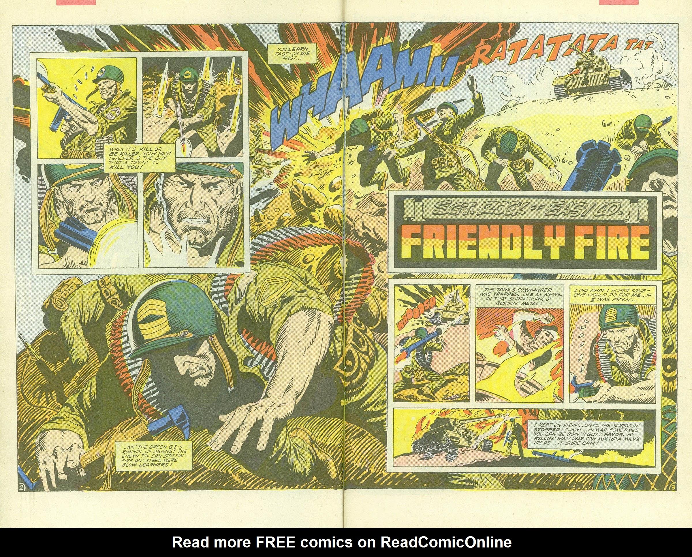Read online Sgt. Rock comic -  Issue #409 - 4