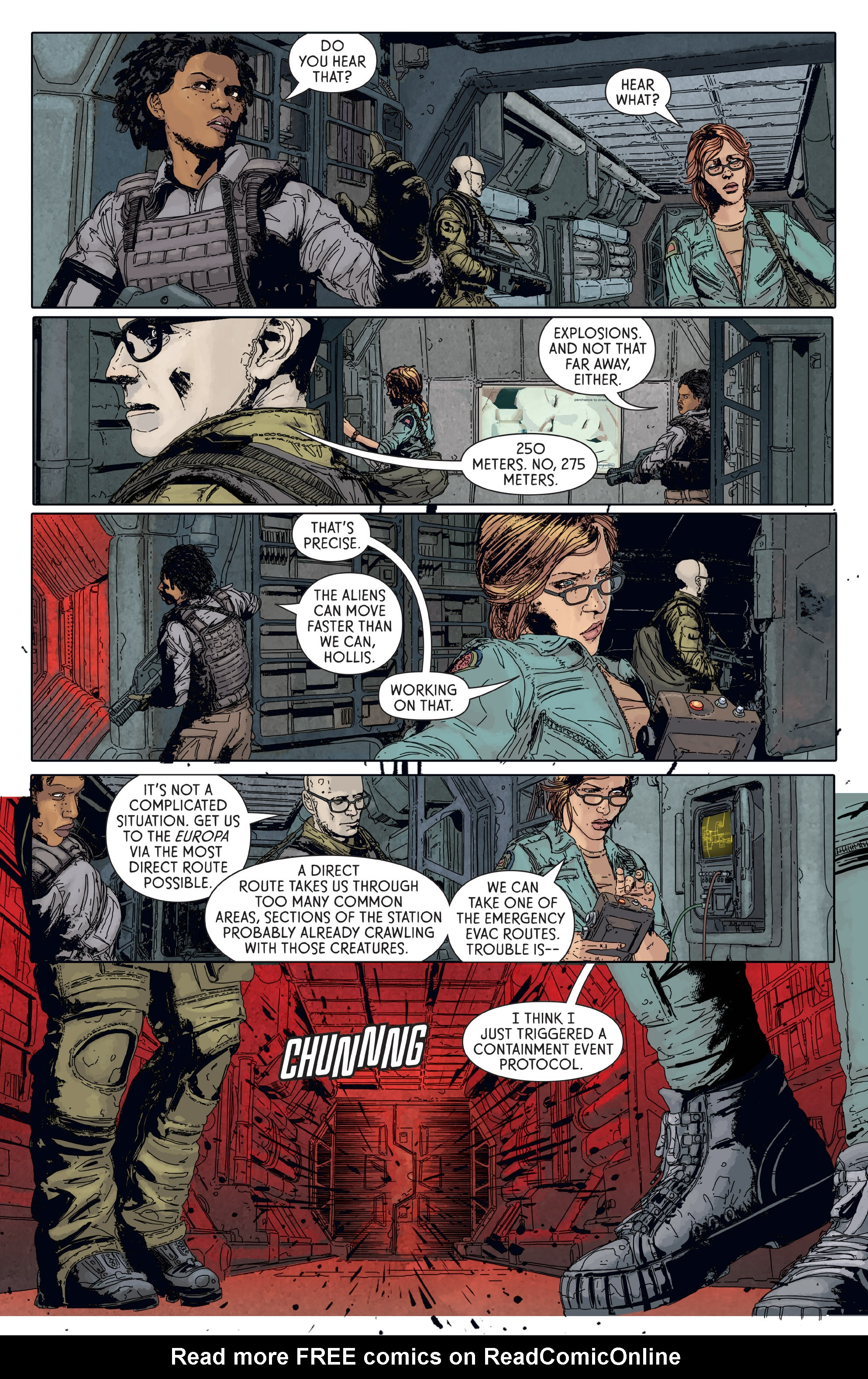 Read online Aliens: Defiance comic -  Issue #6 - 8
