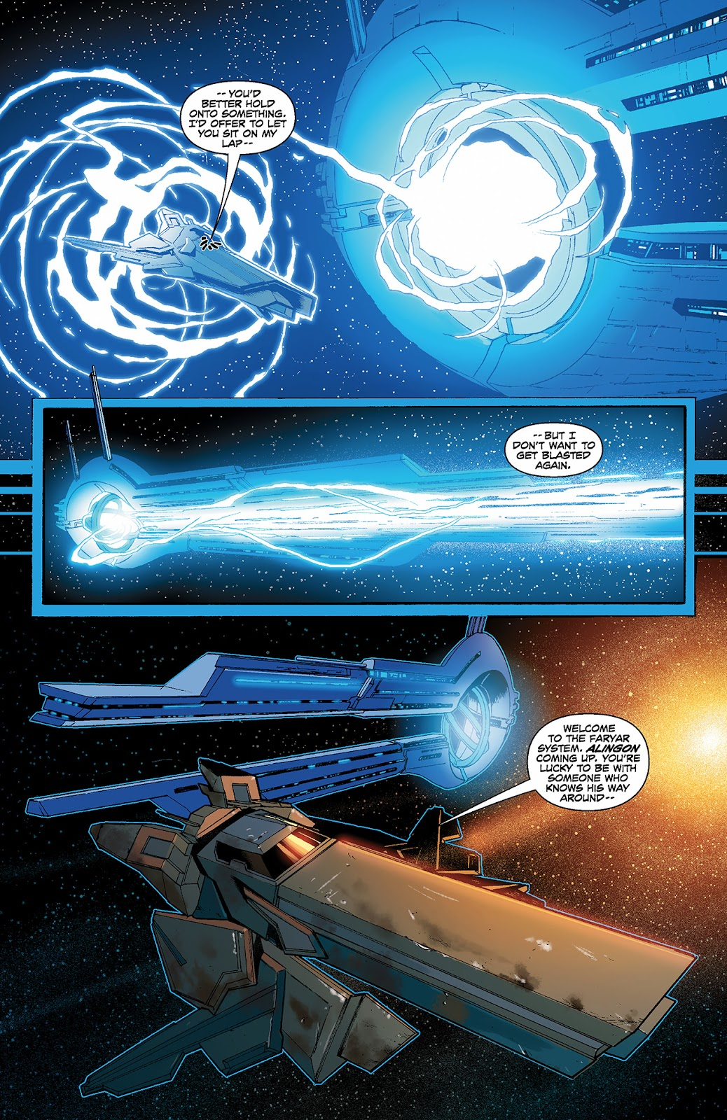 Mass Effect: Redemption Issue #3 #3 - English 7