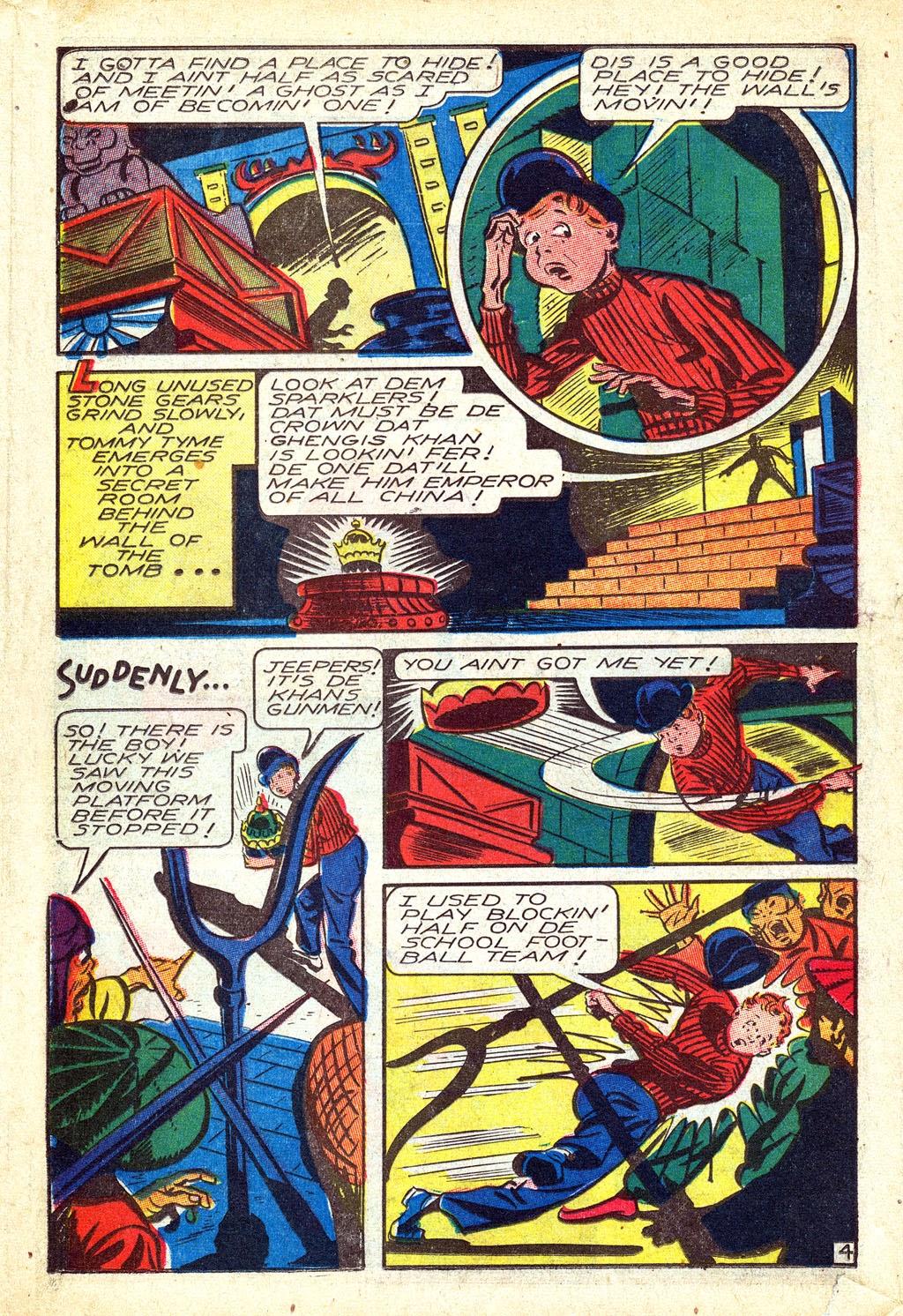 Read online Mystic Comics (1944) comic -  Issue #3 - 22