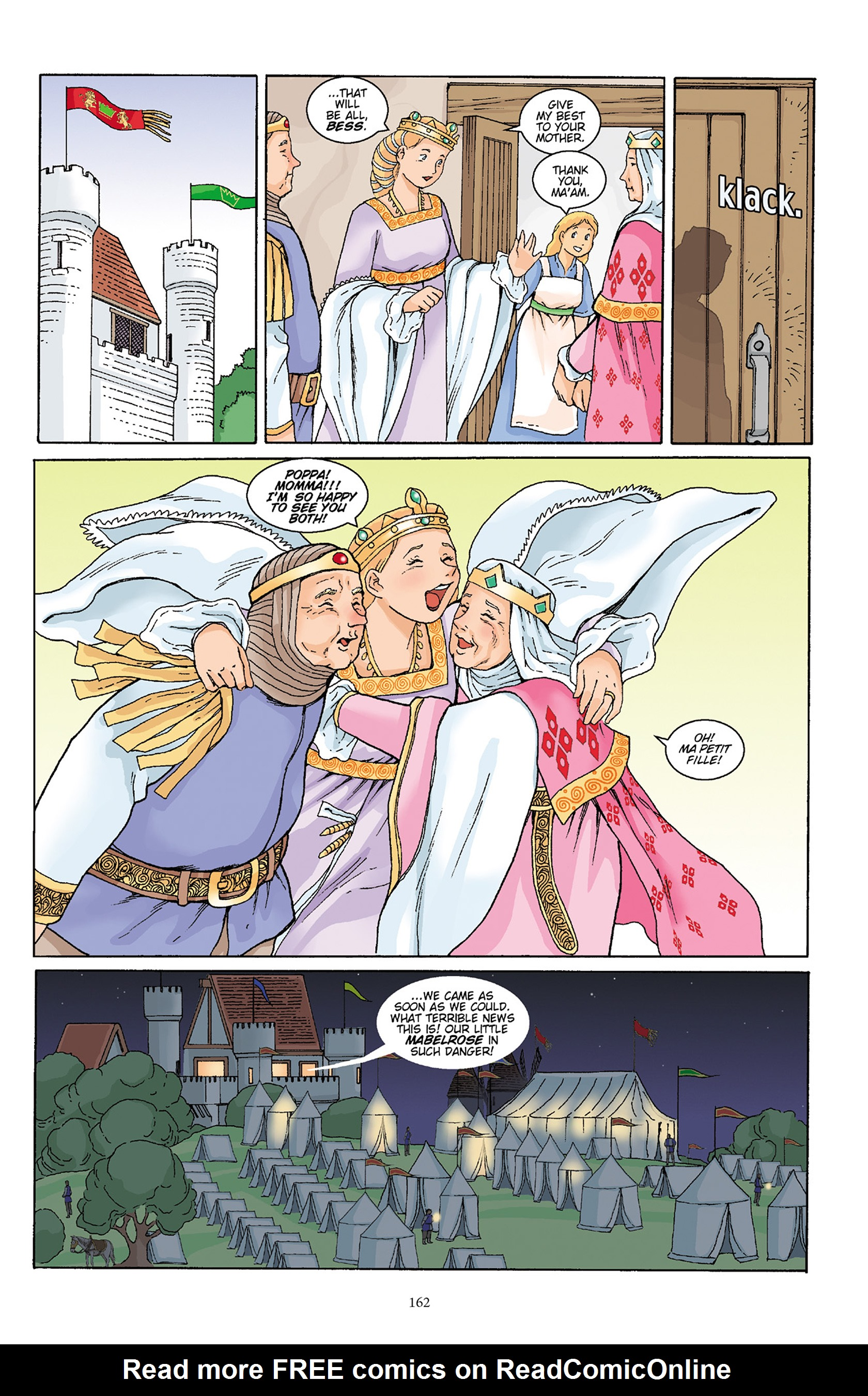 Read online Courageous Princess comic -  Issue # TPB 1 - 161
