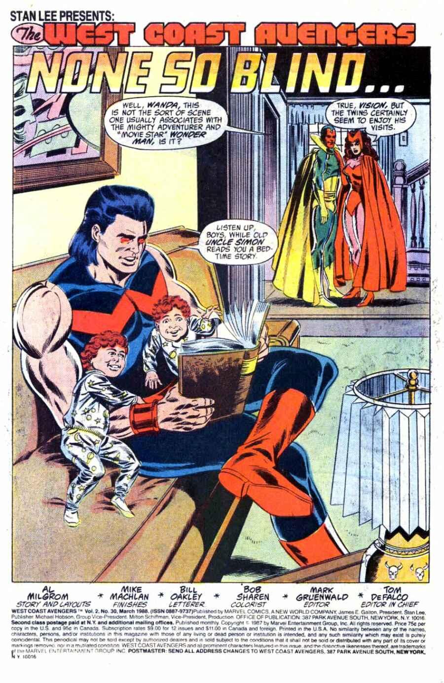 West Coast Avengers (1985) 30 Page 2