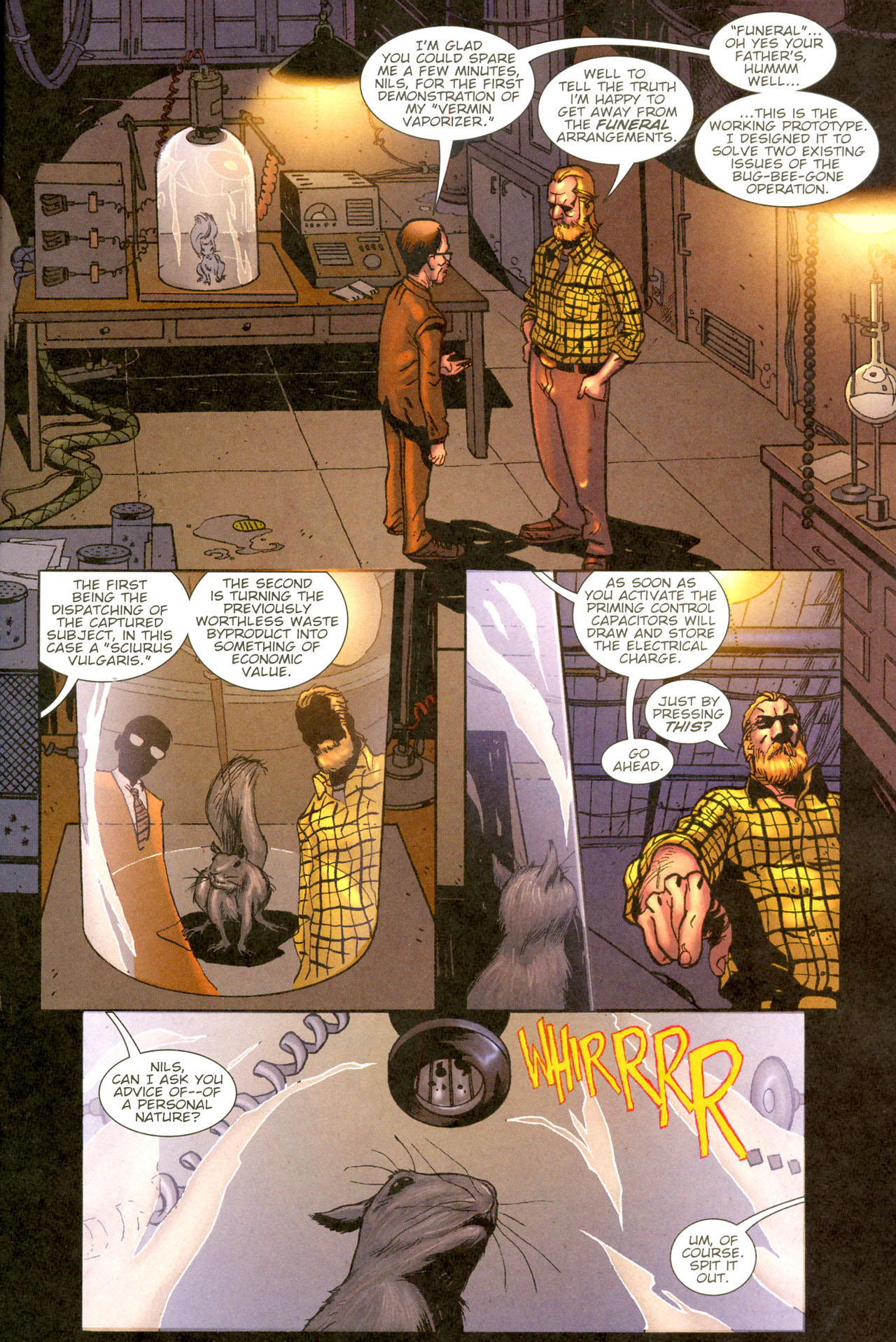 Read online The Exterminators comic -  Issue #11 - 2