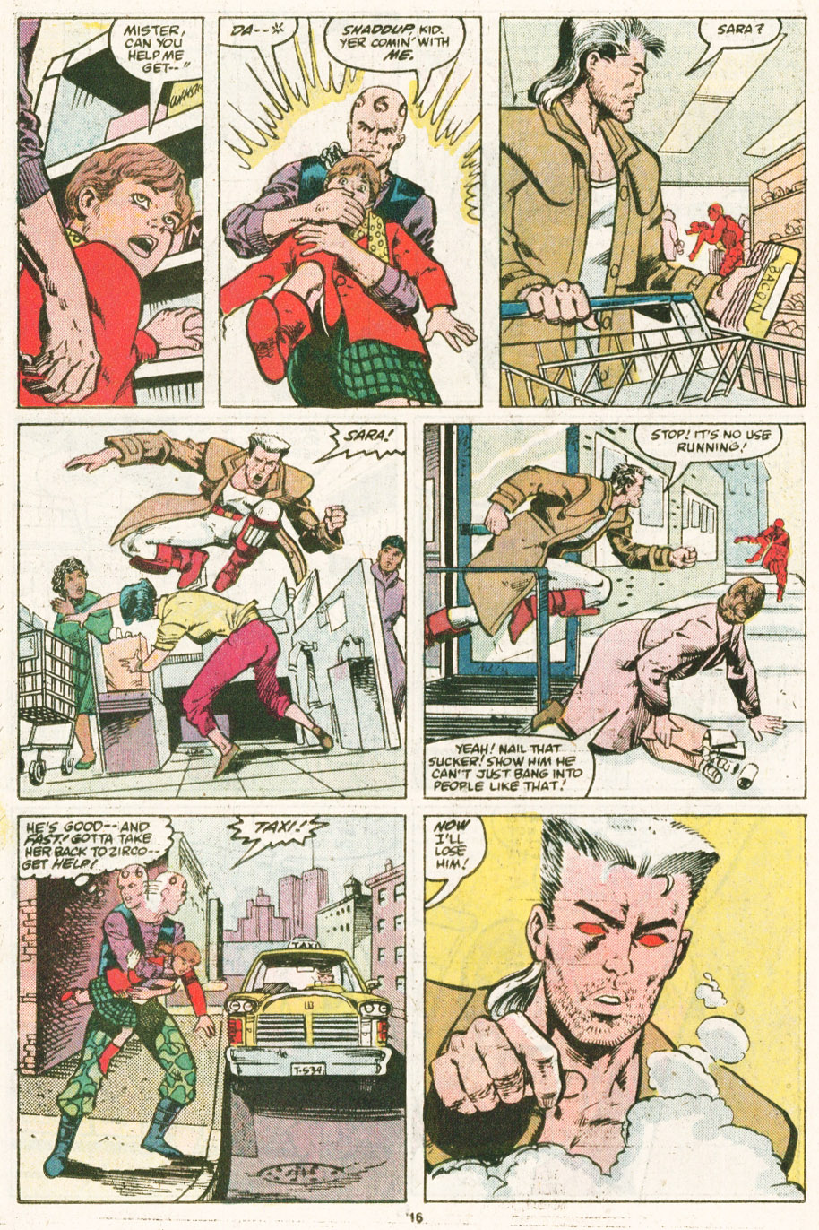 Read online Justice (1986) comic -  Issue #6 - 17