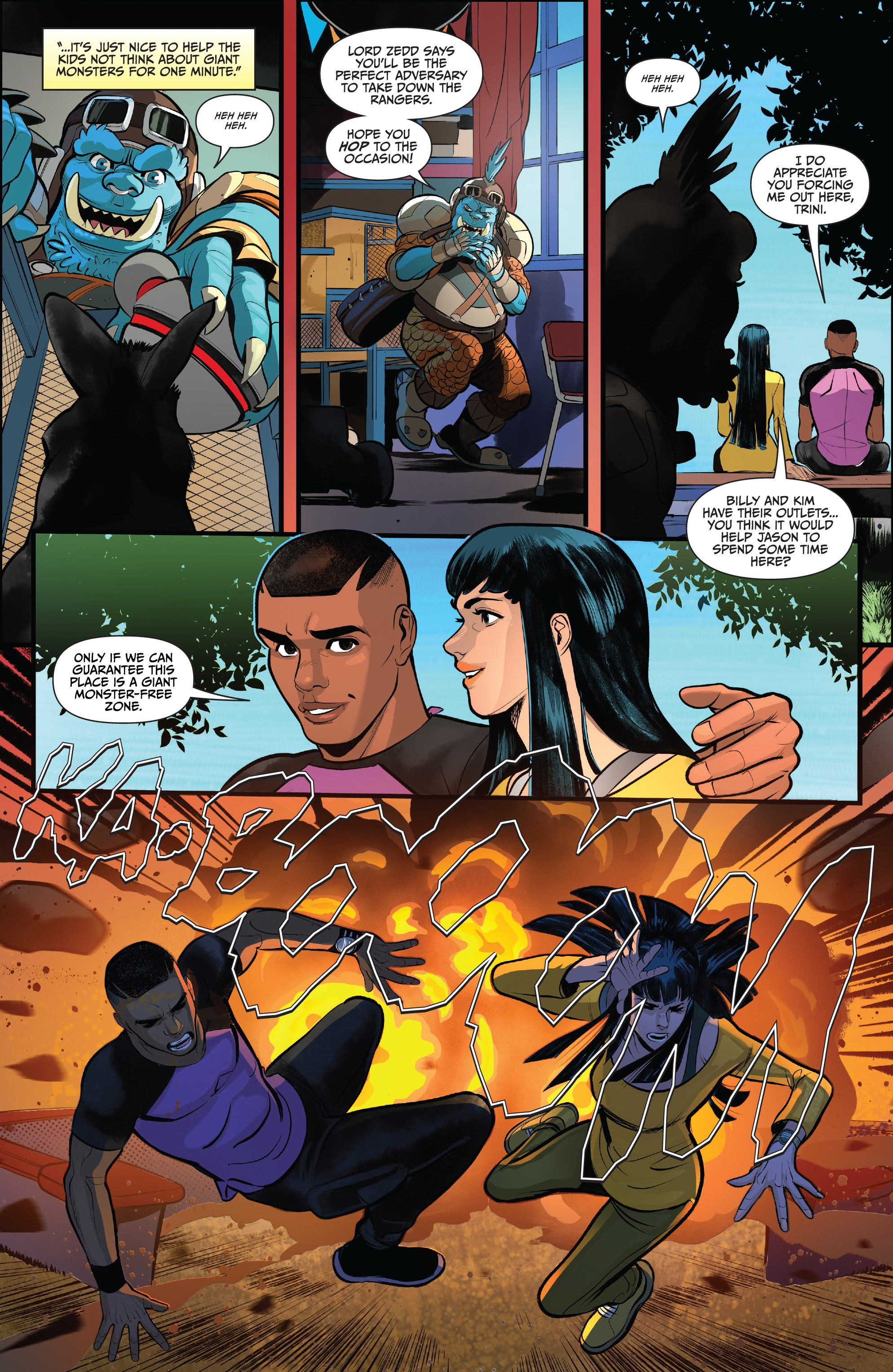 Read online Saban's Go Go Power Rangers comic -  Issue #22 - 16