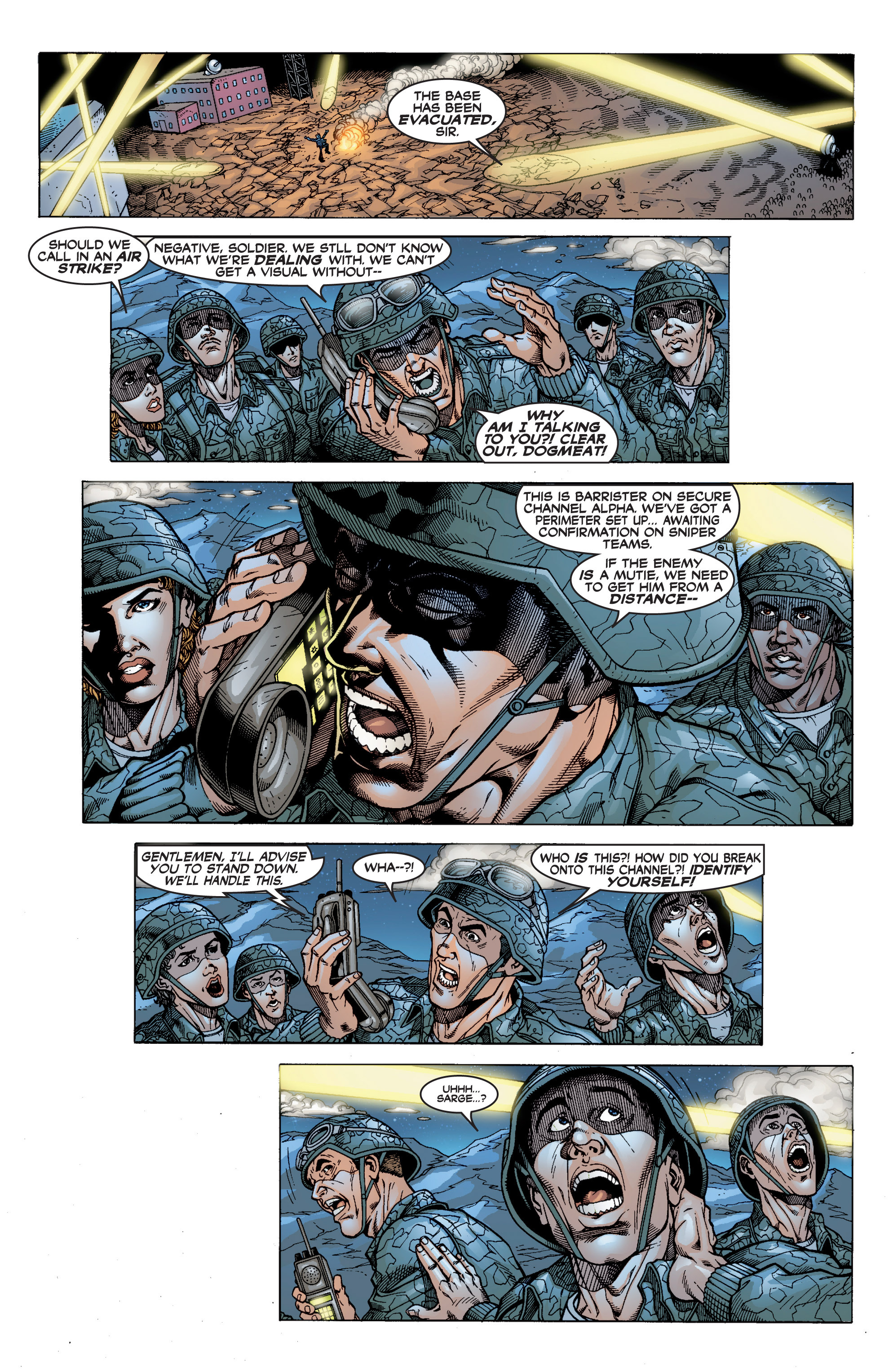 Read online Uncanny X-Men (1963) comic -  Issue #394 - 15