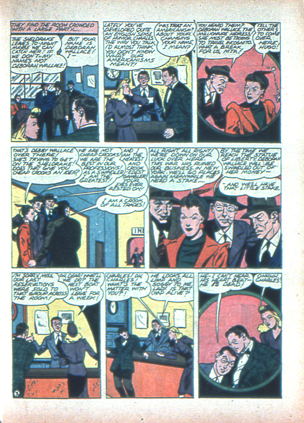 Read online Sensation (Mystery) Comics comic -  Issue #2 - 35