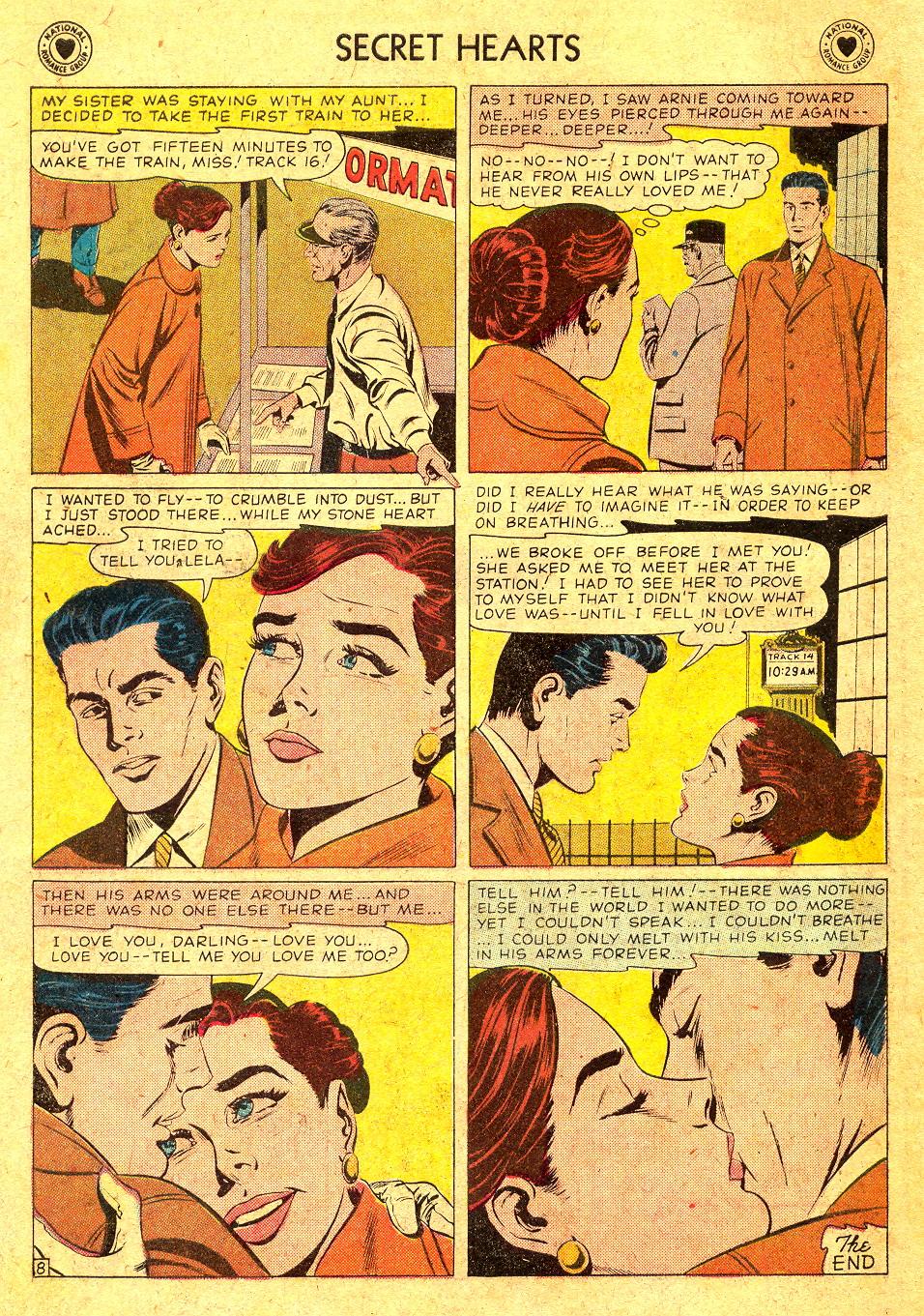 Read online Secret Hearts comic -  Issue #45 - 34