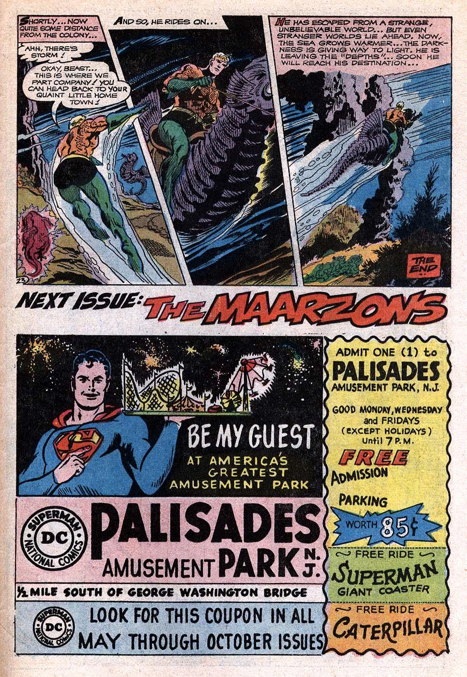Read online Aquaman (1962) comic -  Issue #41 - 30