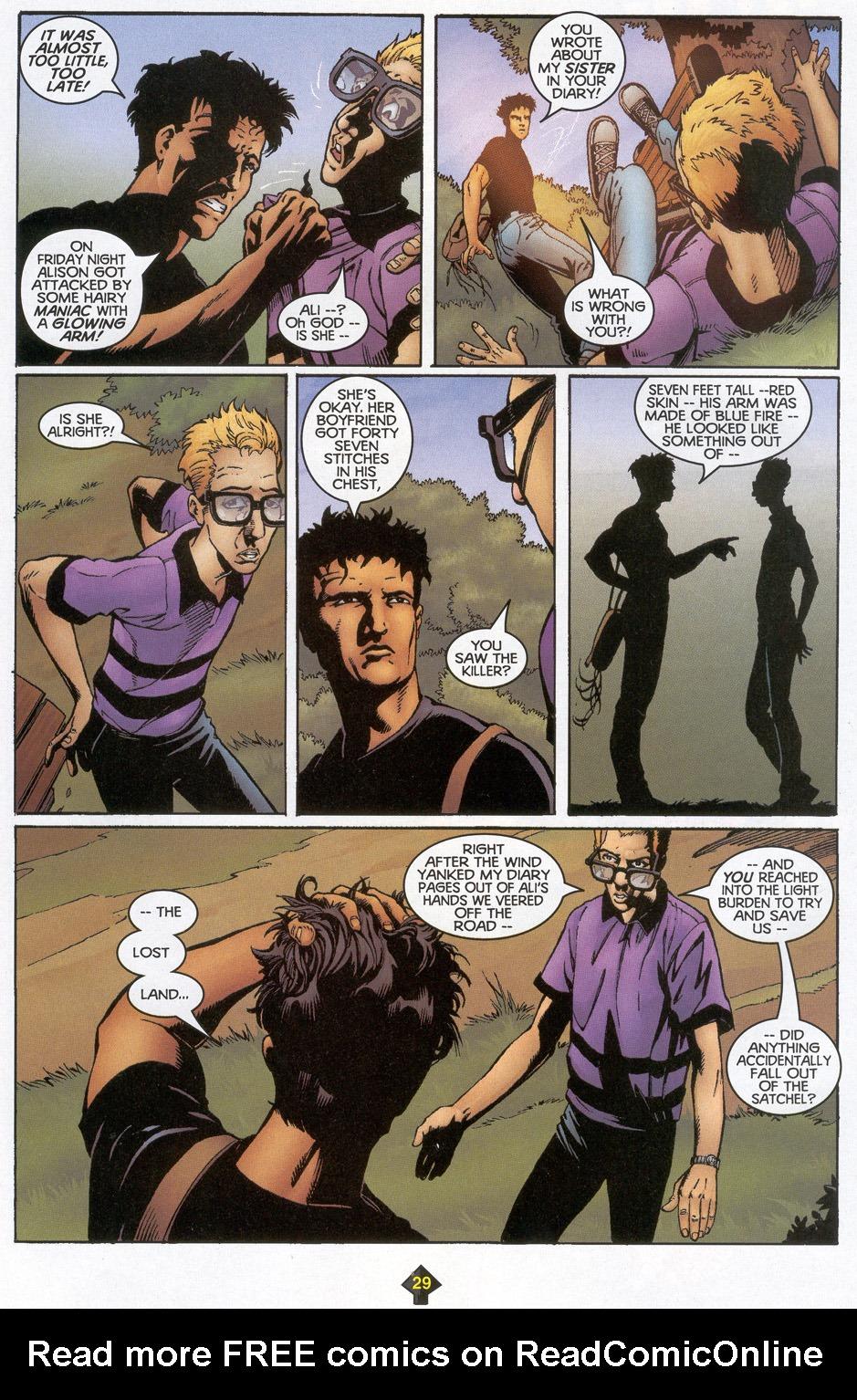 Read online Turok: Redpath comic -  Issue # Full - 28