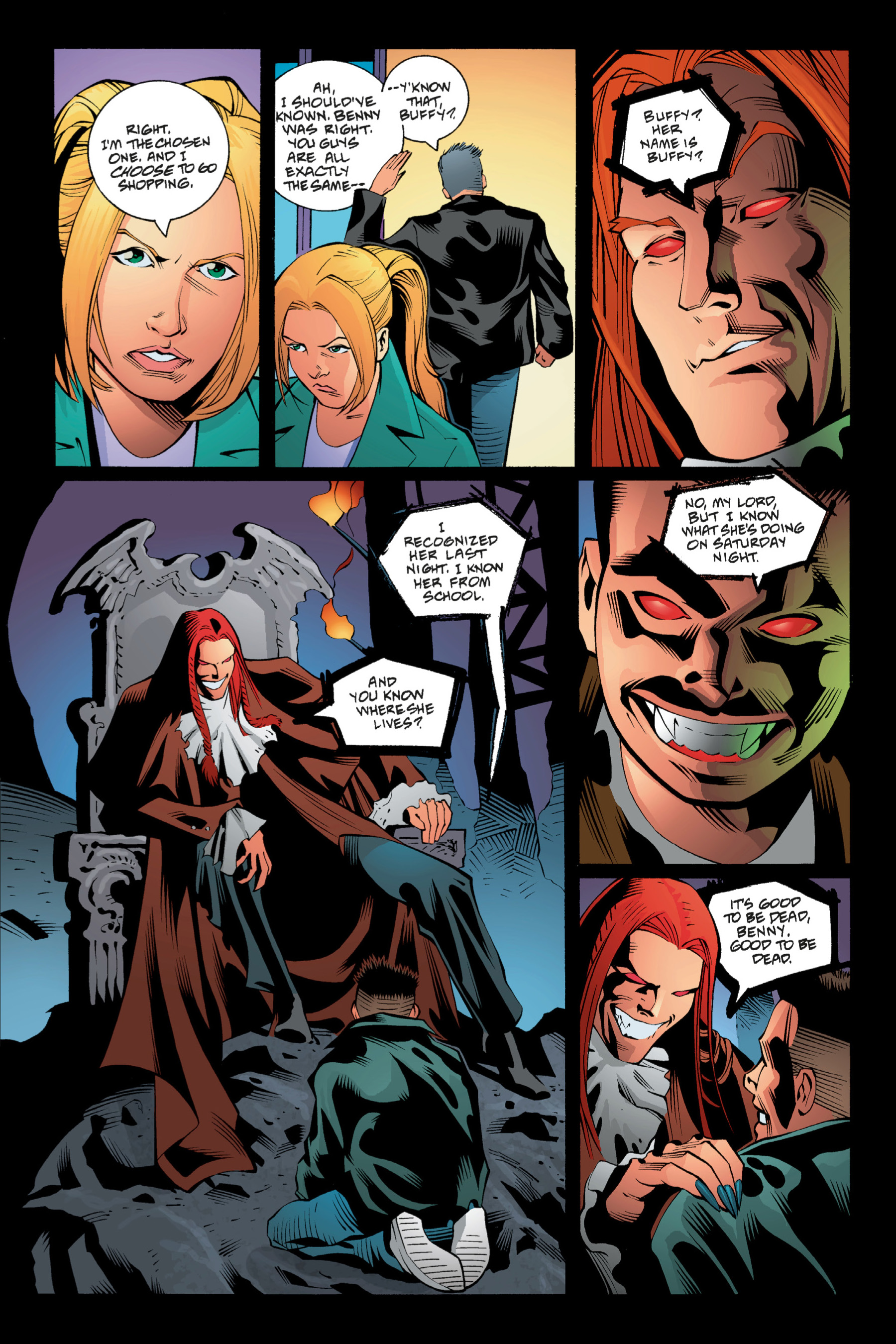 Read online Buffy the Vampire Slayer: Omnibus comic -  Issue # TPB 1 - 85