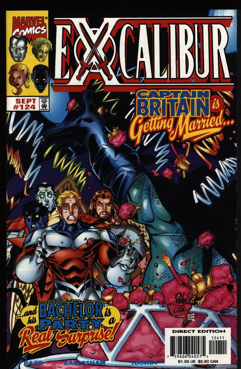 Excalibur (1988) issue 124 - Page 1