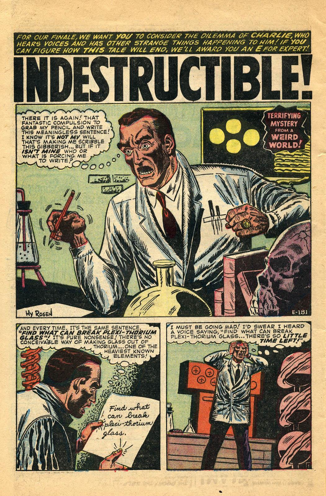Read online Adventures into Weird Worlds comic -  Issue #29 - 28