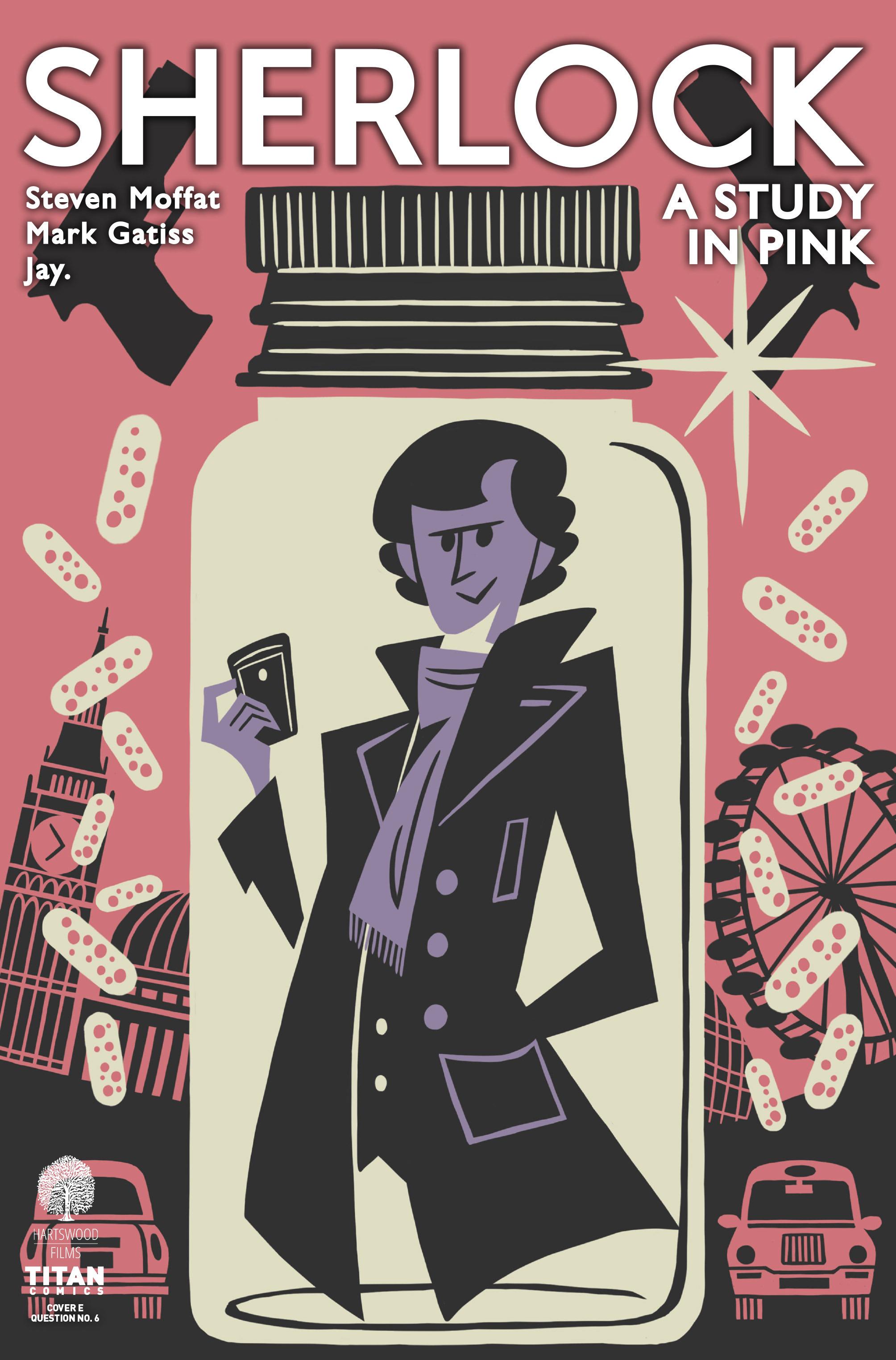 Read online Sherlock: A Study In Pink comic -  Issue #1 - 5