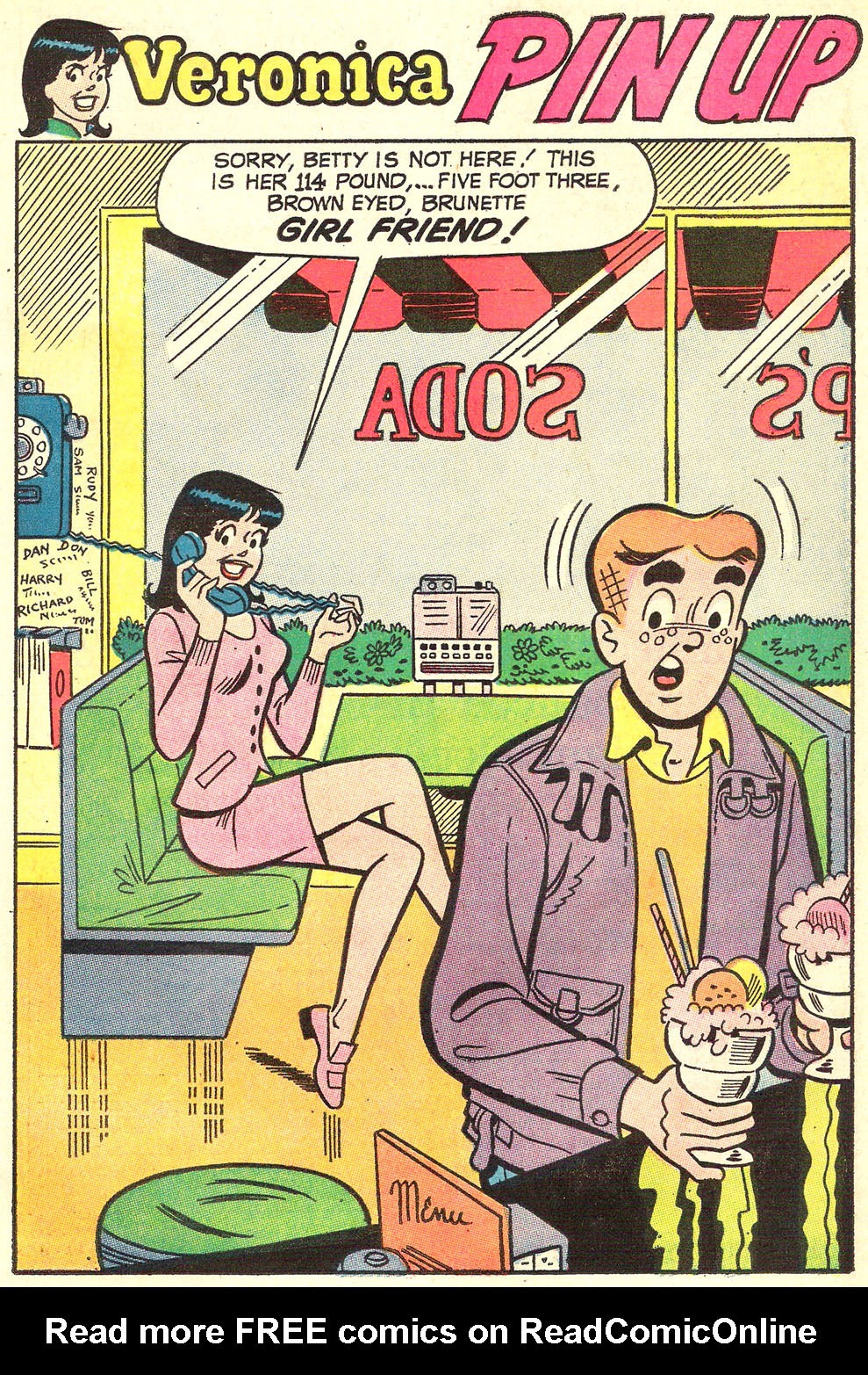 Read online Archie's Girls Betty and Veronica comic -  Issue #186 - 11