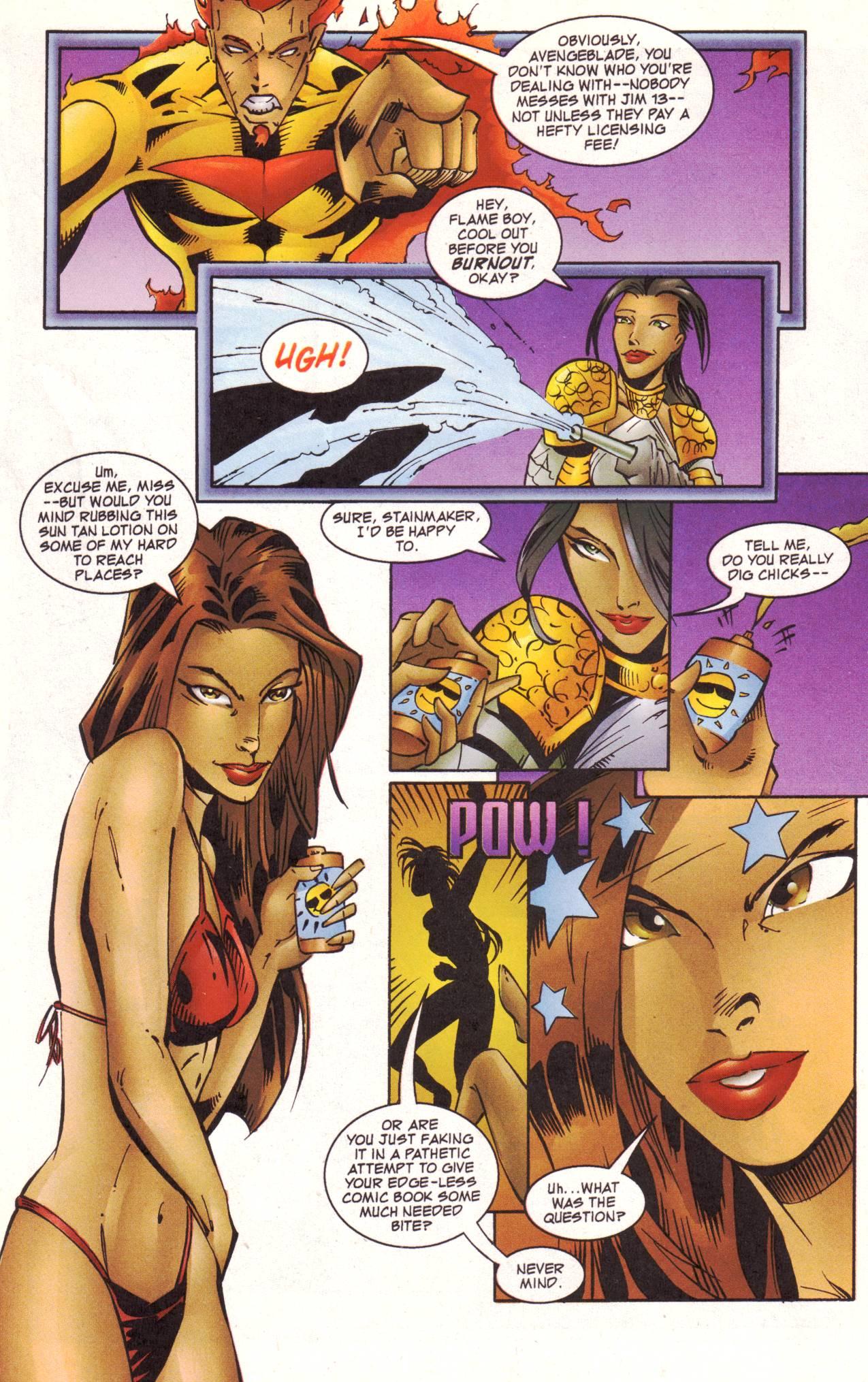 Read online Avengeblade comic -  Issue #2 - 9