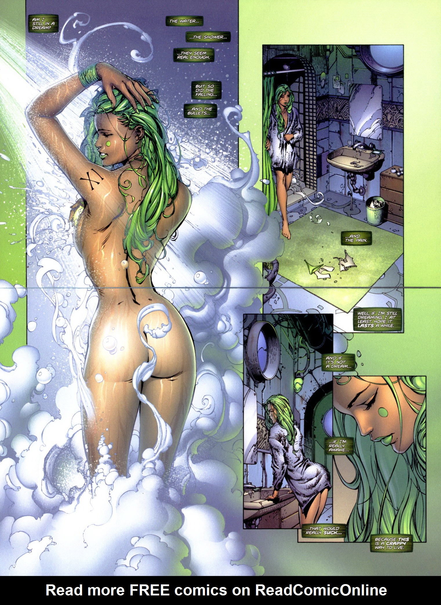 Read online Aphrodite IX (2000) comic -  Issue #1 - 10