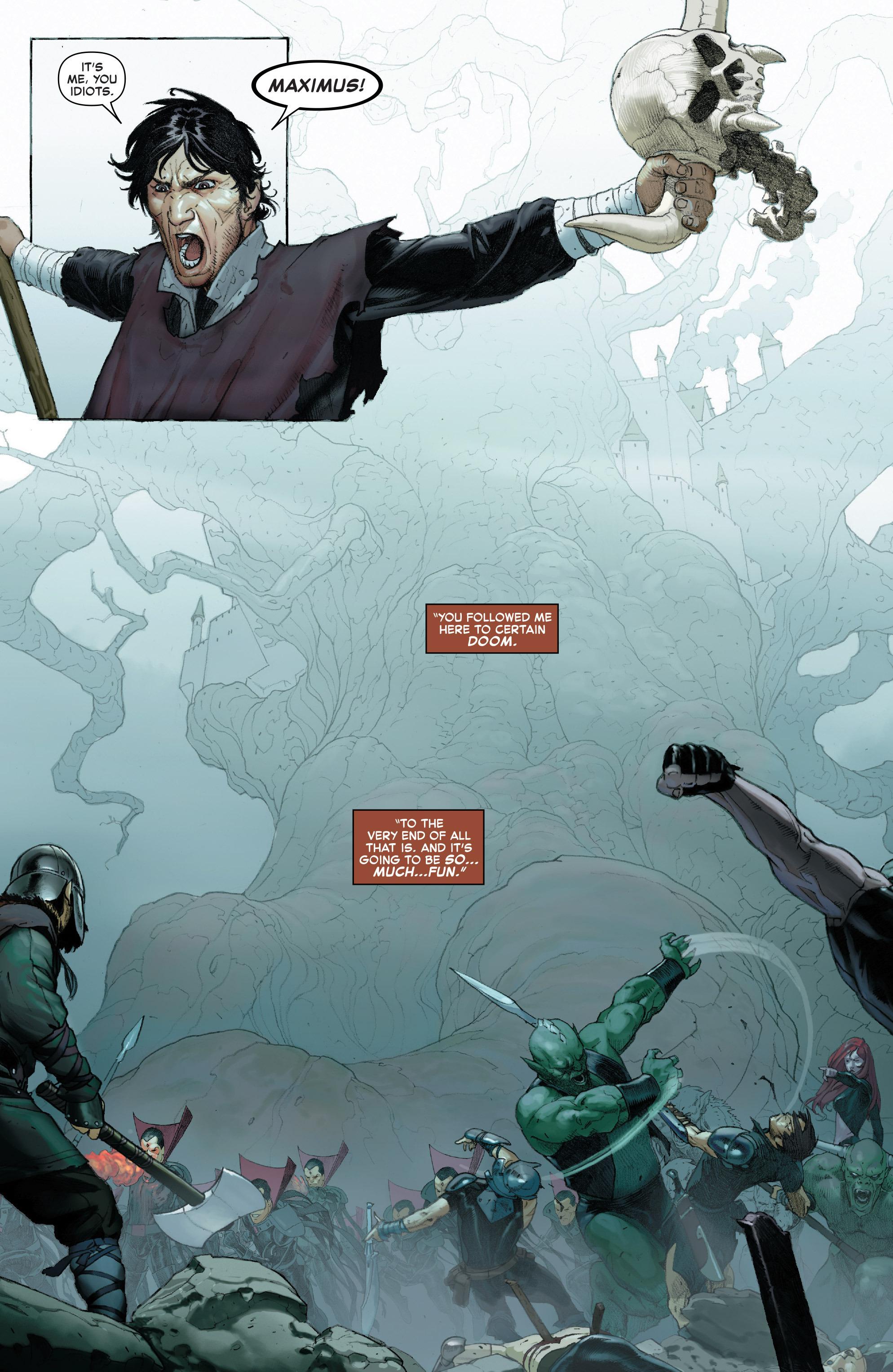 Read online Secret Wars comic -  Issue #7 - 3
