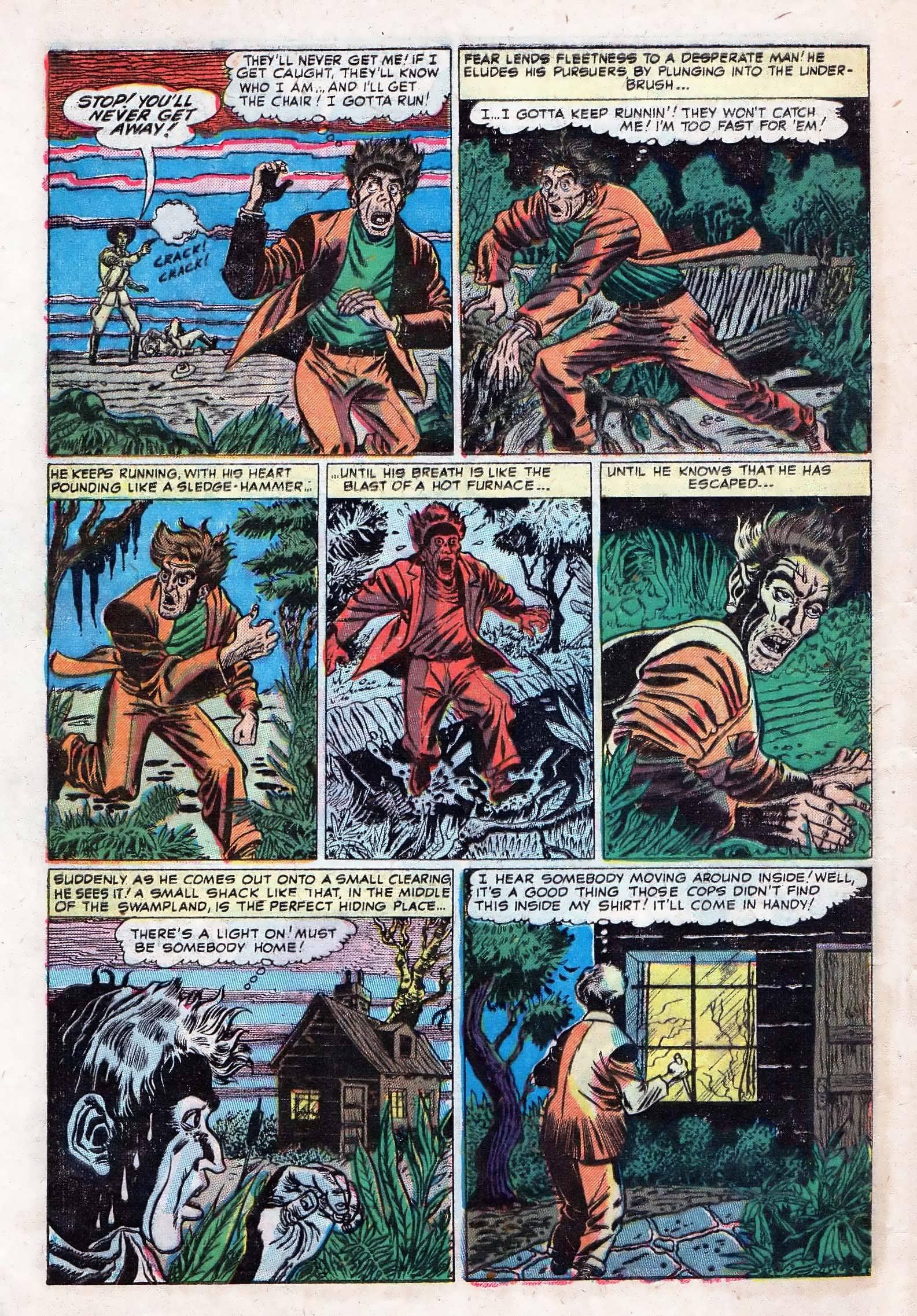 Read online Adventures into Weird Worlds comic -  Issue #10 - 5