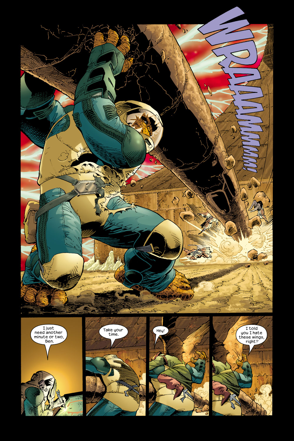 Read online Ultimate Fantastic Four (2004) comic -  Issue #17 - 8