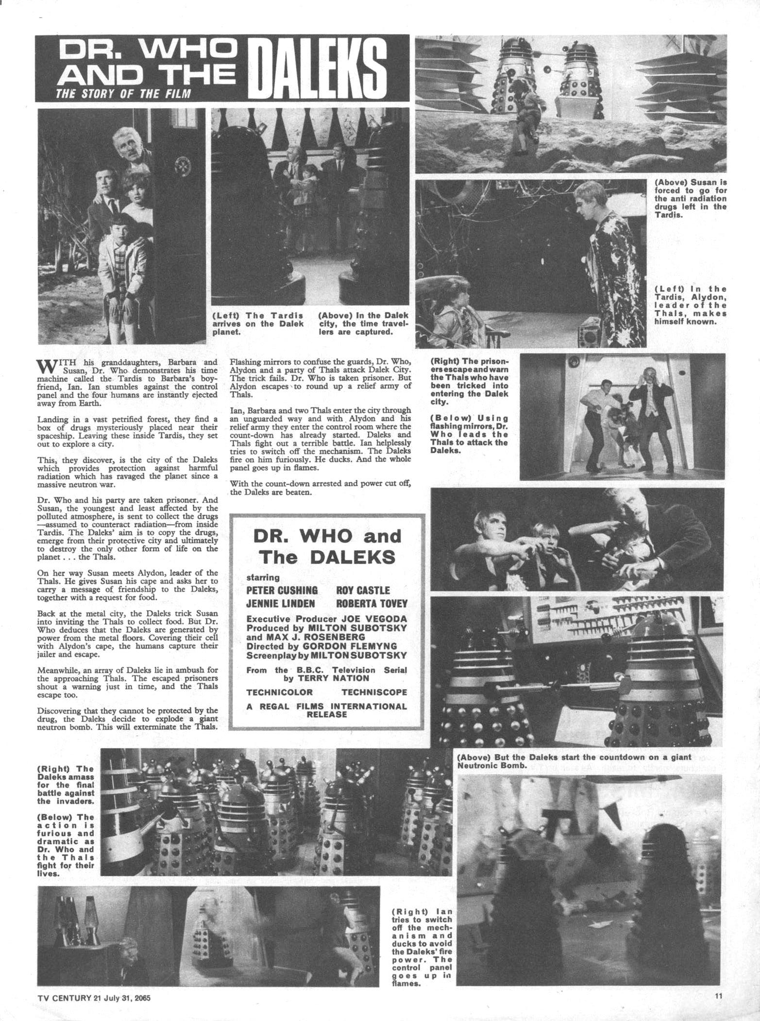 Read online TV Century 21 (TV 21) comic -  Issue #28 - 11