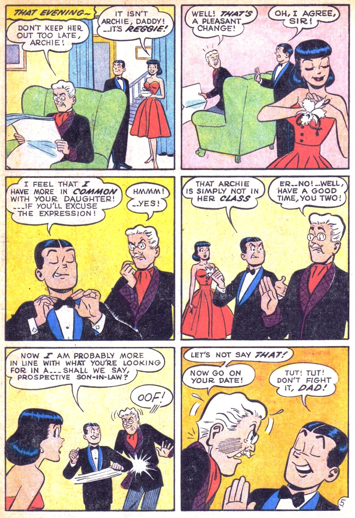 Read online Archie (1960) comic -  Issue #129 - 7