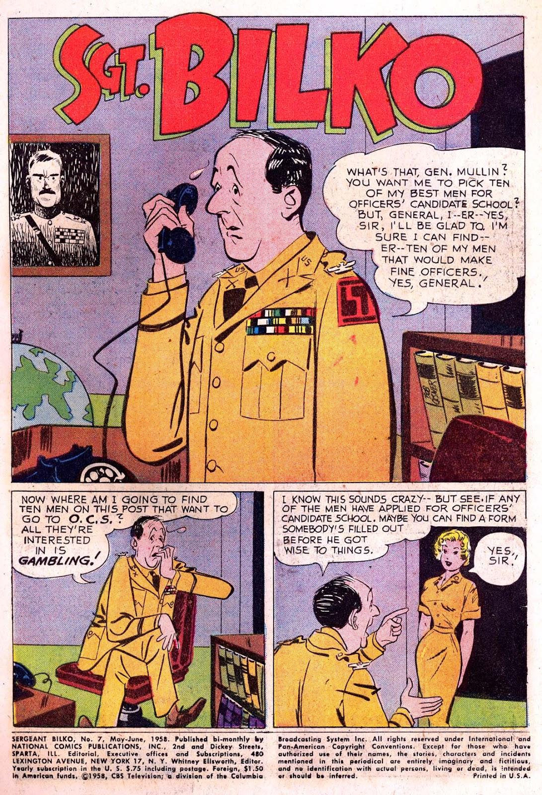 Sergeant Bilko issue 7 - Page 3