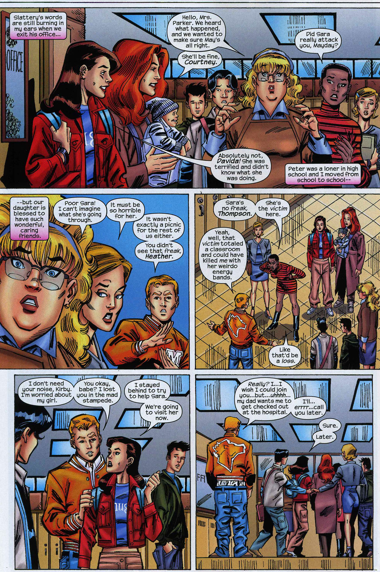 Amazing Spider-Girl 8 Page 9