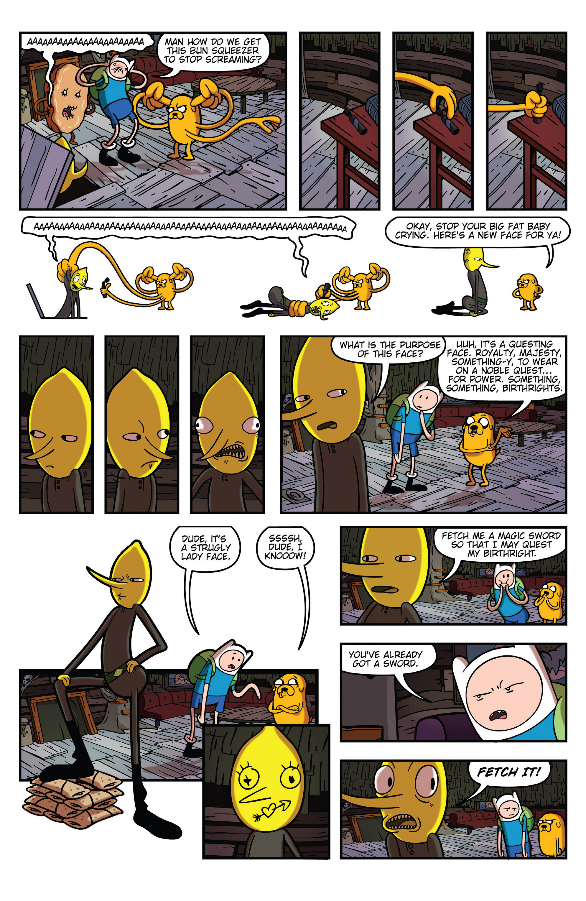 Read online Adventure Time comic -  Issue #31 - 22