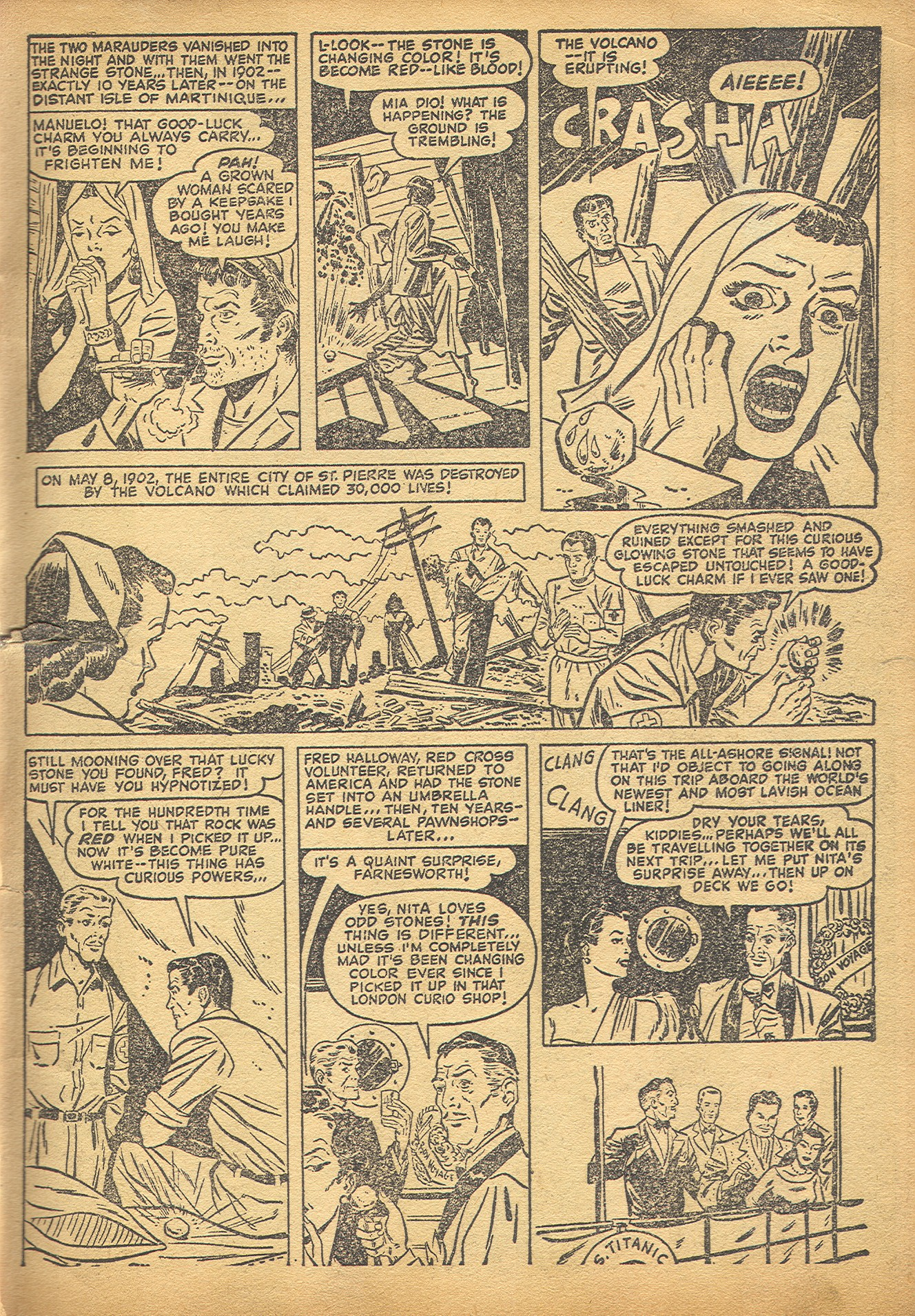 Read online Adventures into Weird Worlds comic -  Issue #8 - 4